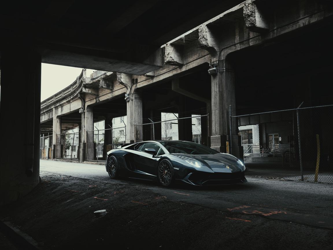 1152x864 Black Lamborghini Aventador 2020 4k 1152x864 ...