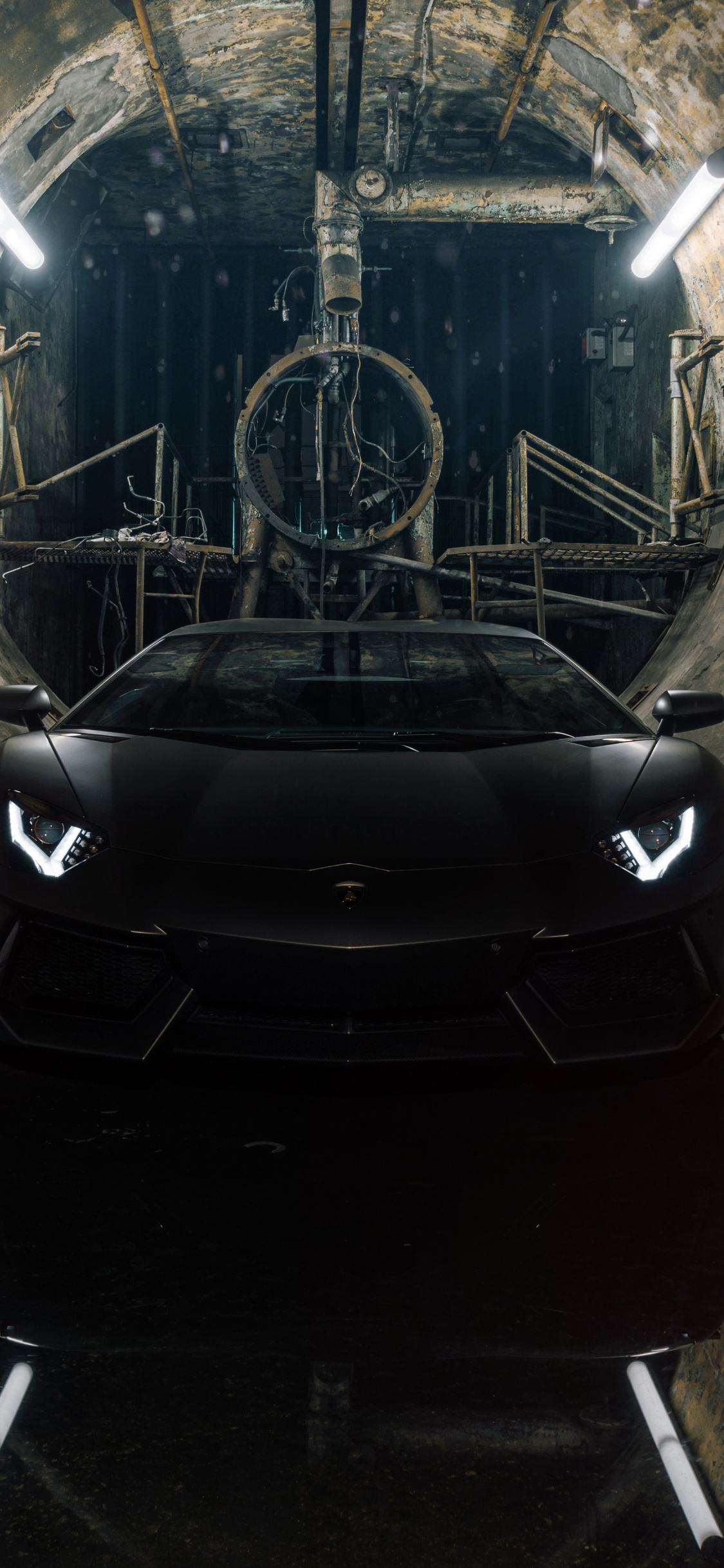 1125x2436 Black Lamborghini Aventador Iphone Xs Iphone 10