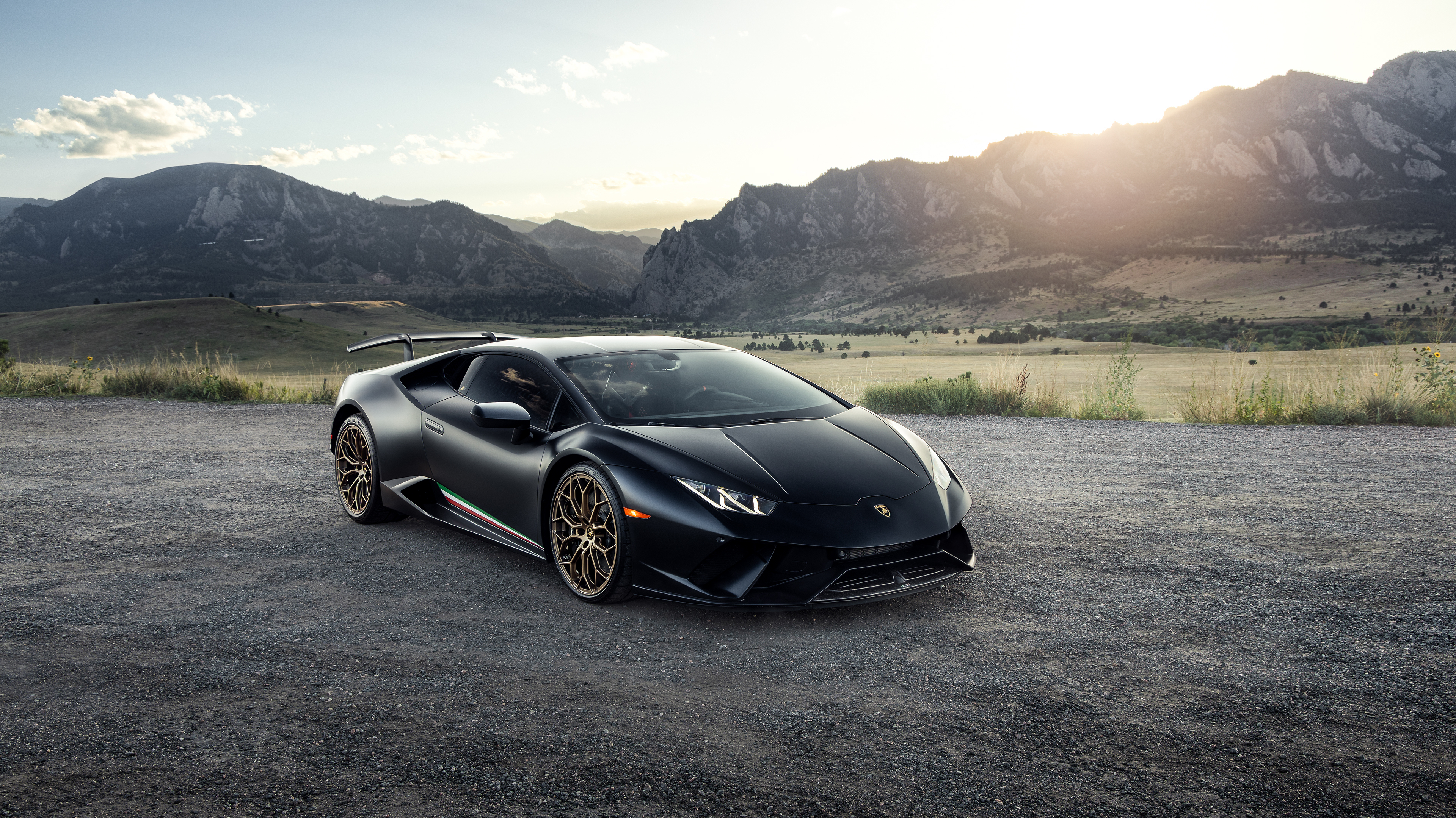 3840x2160 Black Lamborghini Huracan 2020 4k HD 4k ...