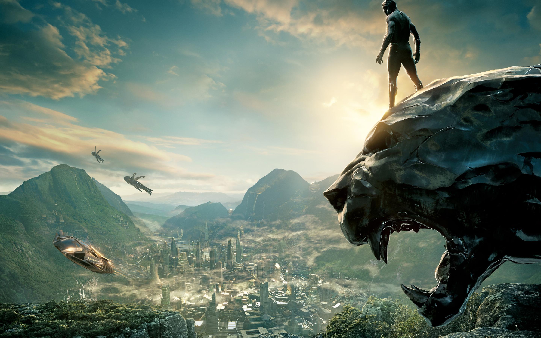 Black Panther 2017 8k Nj