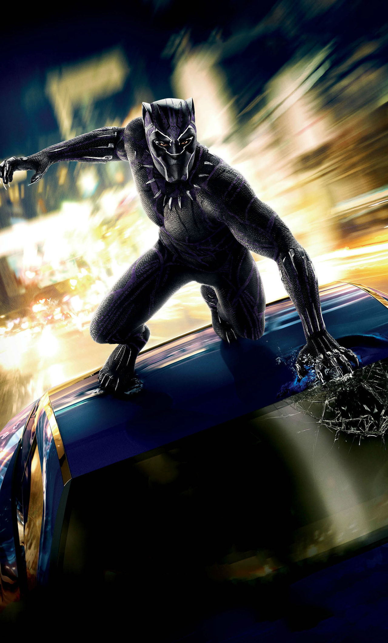 1280x2120 Black Panther 2018 International Poster Iphone 6 Hd 4k