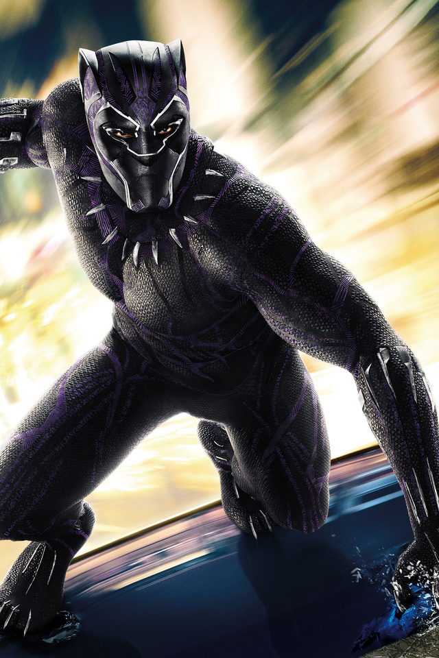640x960 Black Panther 2018 Movie 4k iPhone 4, iPhone 4S HD ...