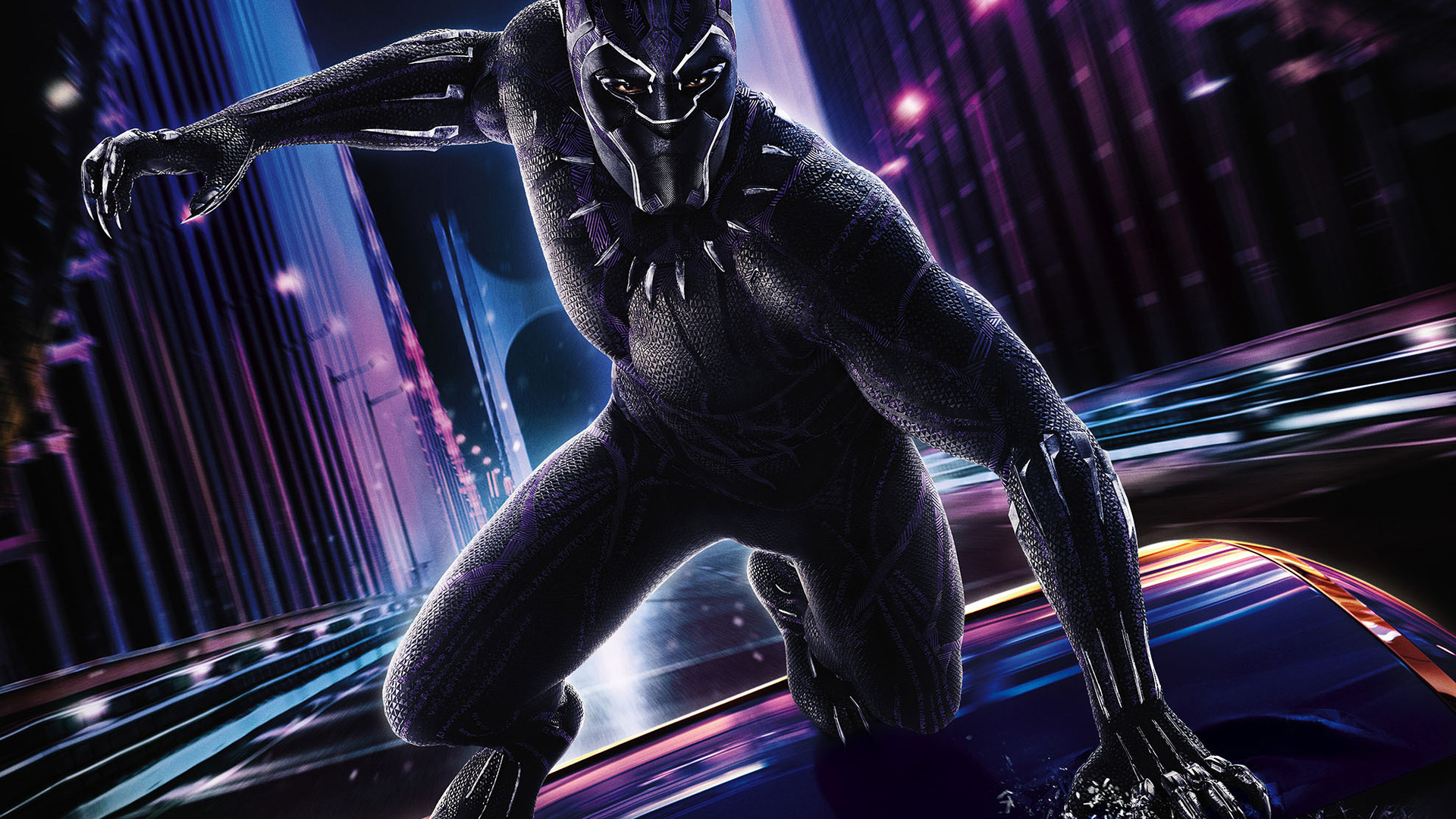 Black Panther 2018 Movie Still Full Hd Wallpaper: 1920x1080 Black Panther 2018 Movie Poster Laptop Full HD