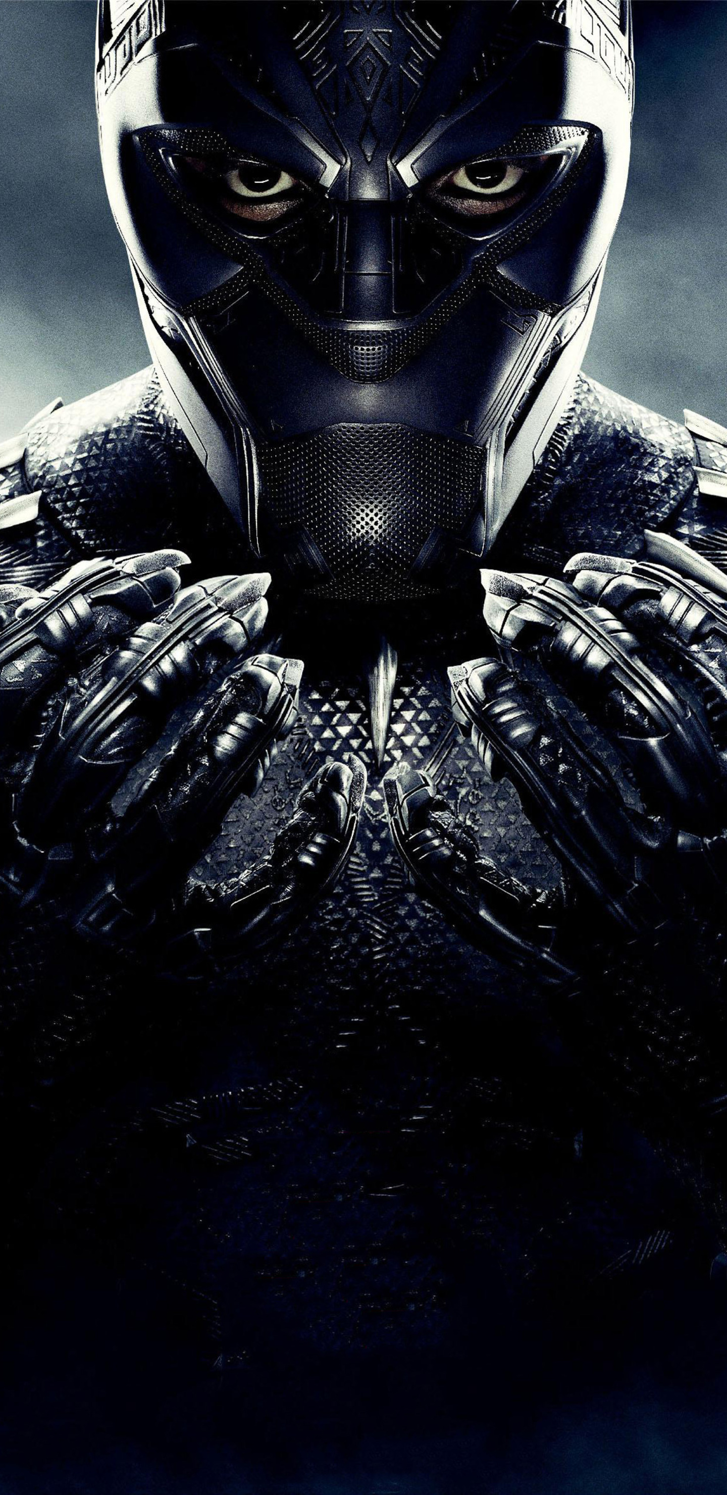 1440x2960 Black Panther 2018 Poster Samsung Galaxy Note 9 8 S9 S8