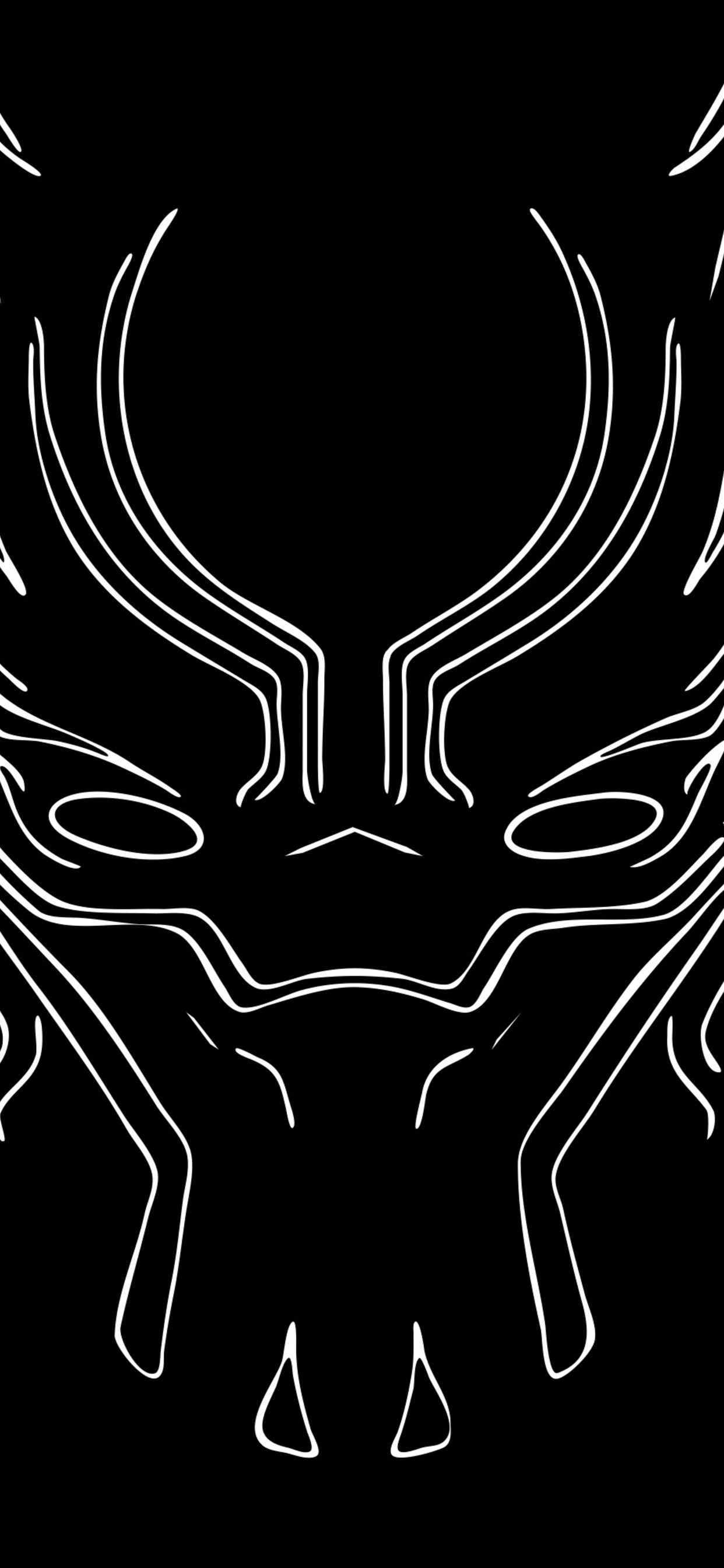 1242x2688 Black Panther 4k Artwork Iphone Xs Max Hd 4k