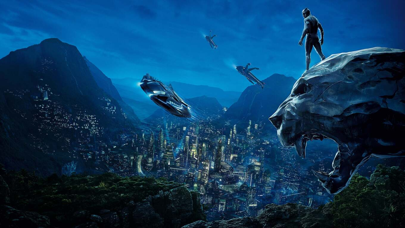 4k Wallpaper Wallpaper By Gstblack: 1360x768 Black Panther 4k Movie Poster Laptop HD HD 4k