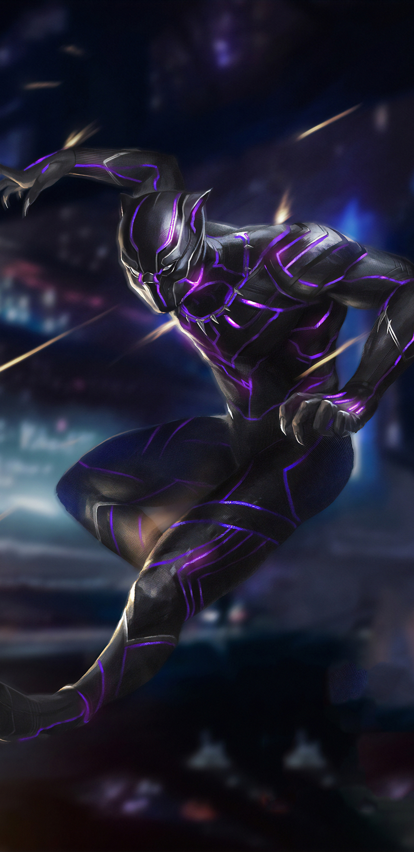 1440x2960 Black Panther 4k New Samsung Galaxy Note 98 S9