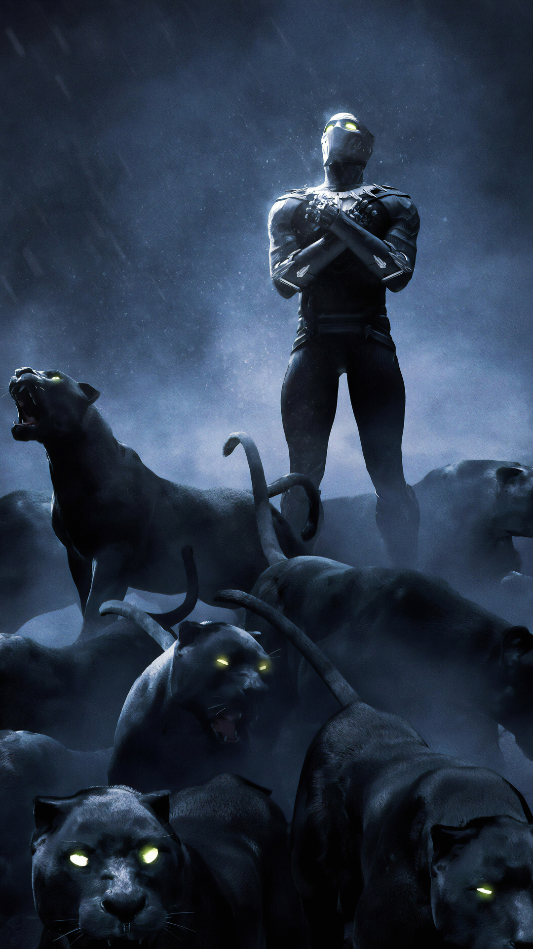 1080x1920 Black Panther 4k Rise Up Iphone 7,6s,6 Plus ...