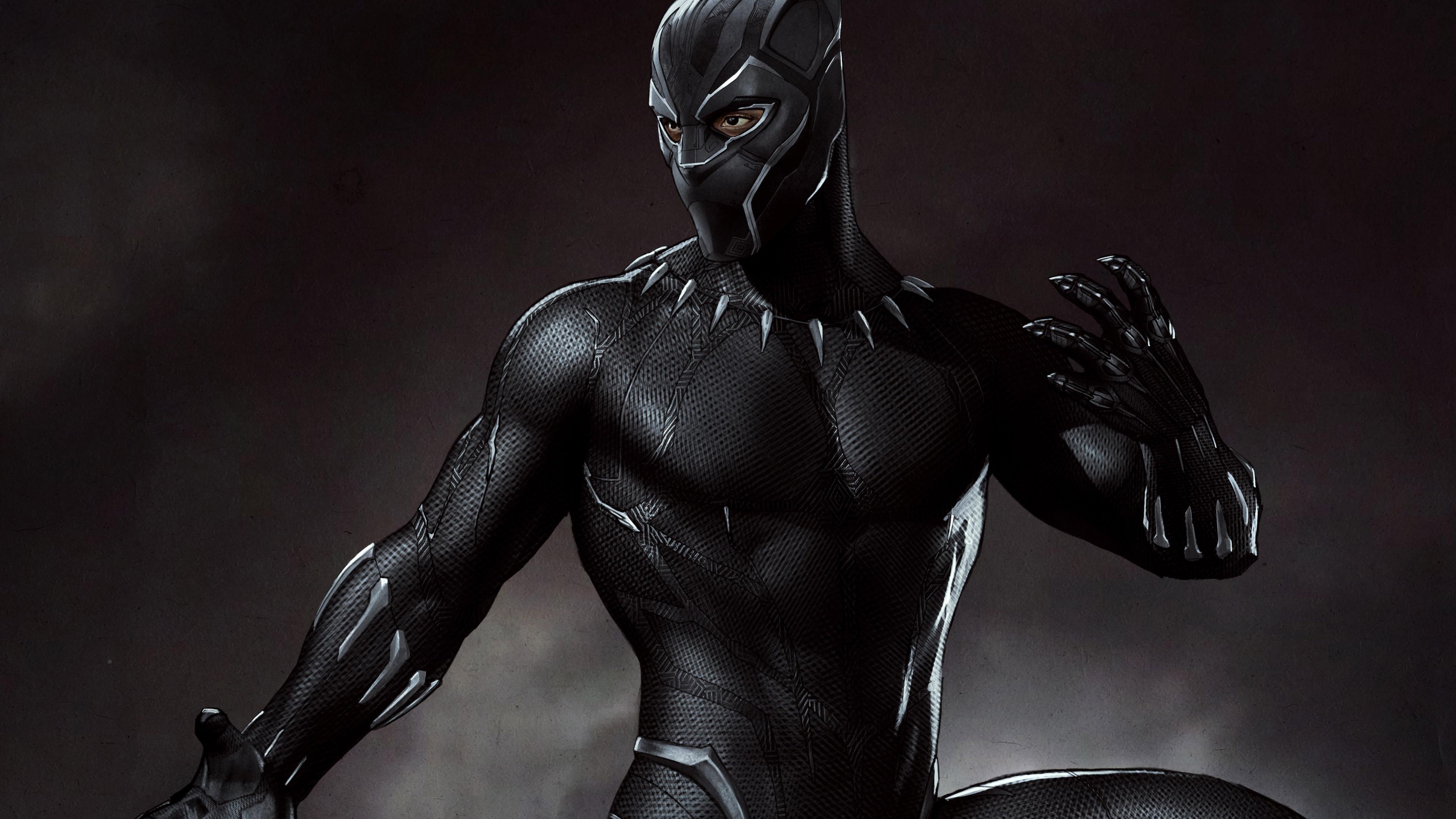 3840x2160 Black Panther 5k Artwork 4k HD 4k Wallpapers ...
