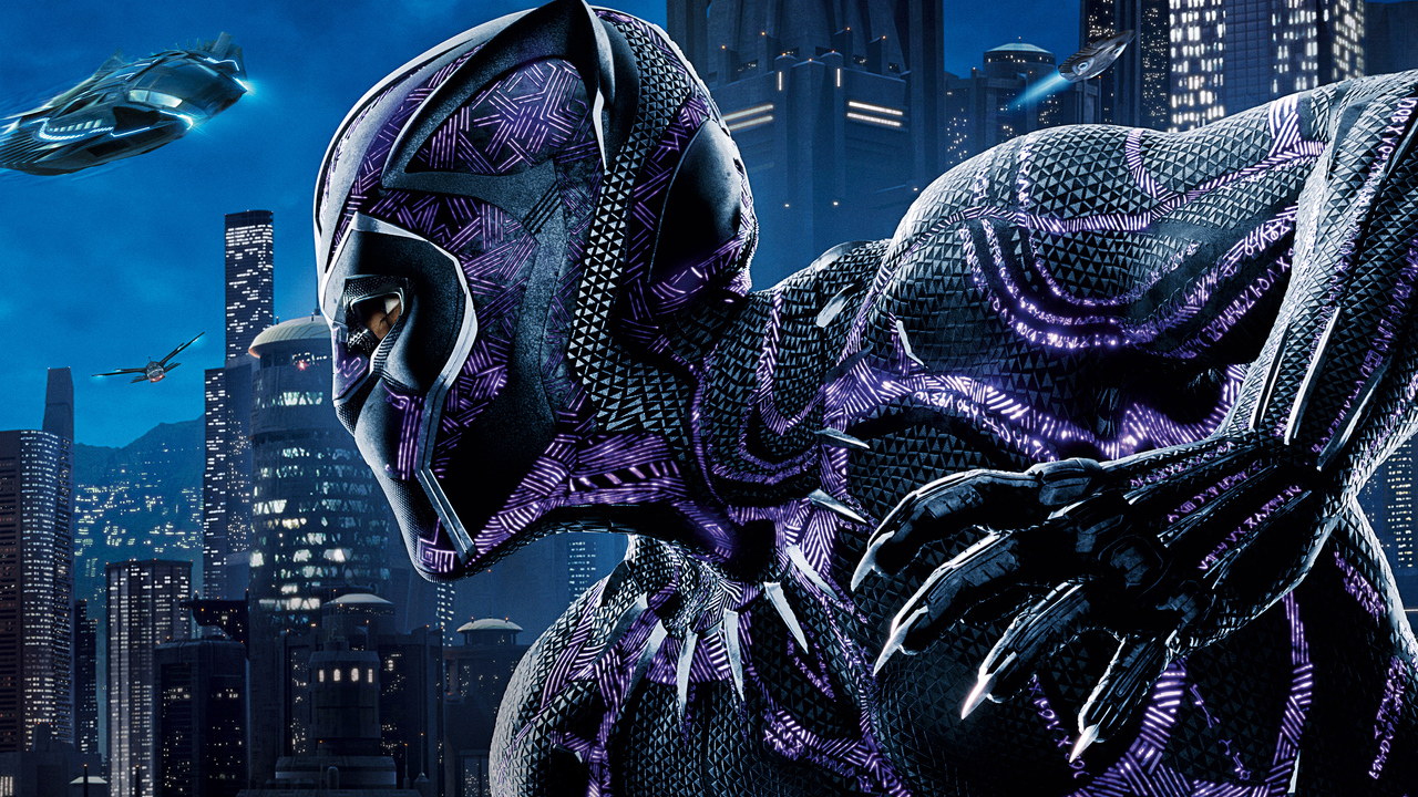 1280x720 black panther 5k poster 720p hd 4k wallpapers, images