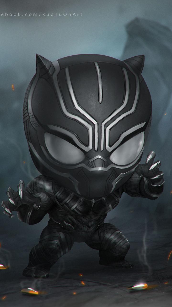 Black Panther Art X4