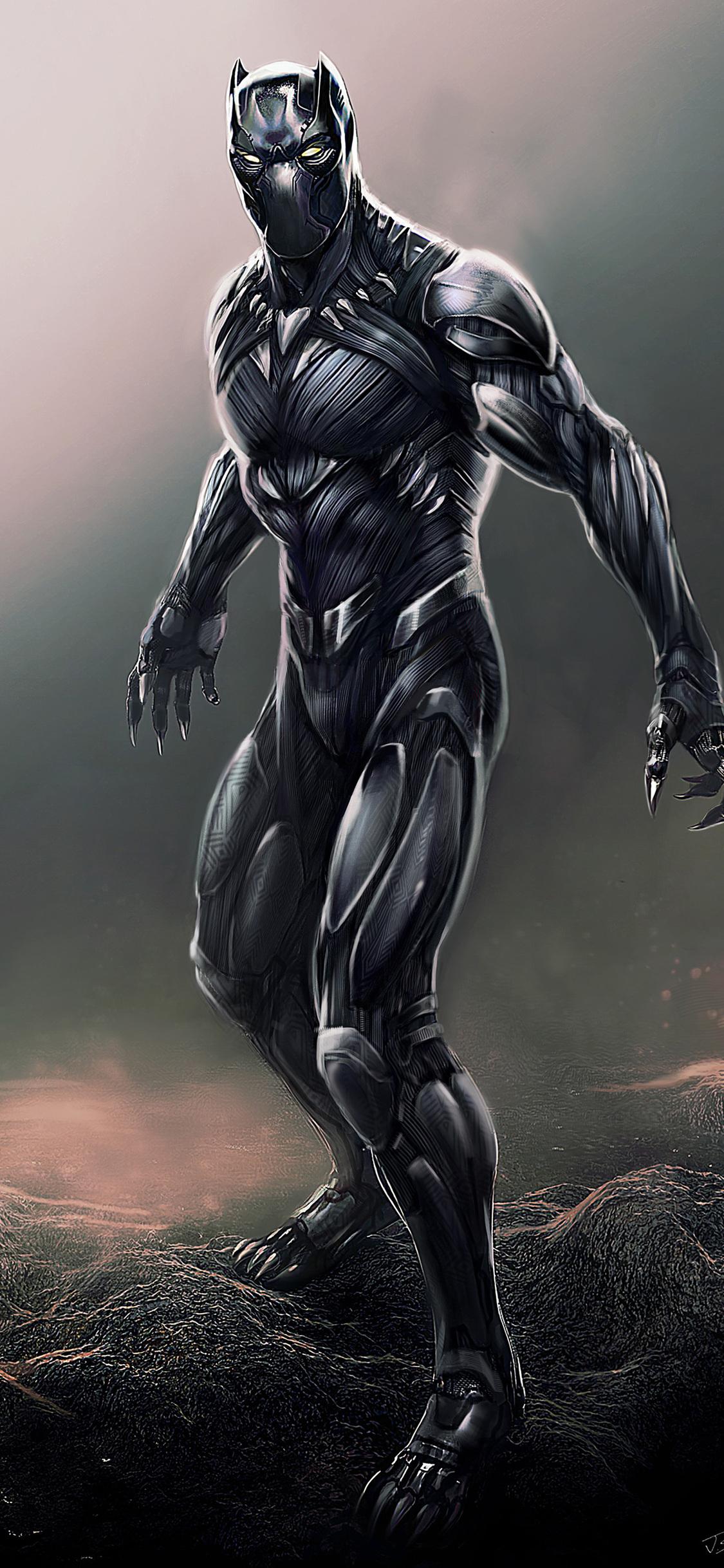 1125x2436 Black Panther Digital Artwork Iphone XS,Iphone ...