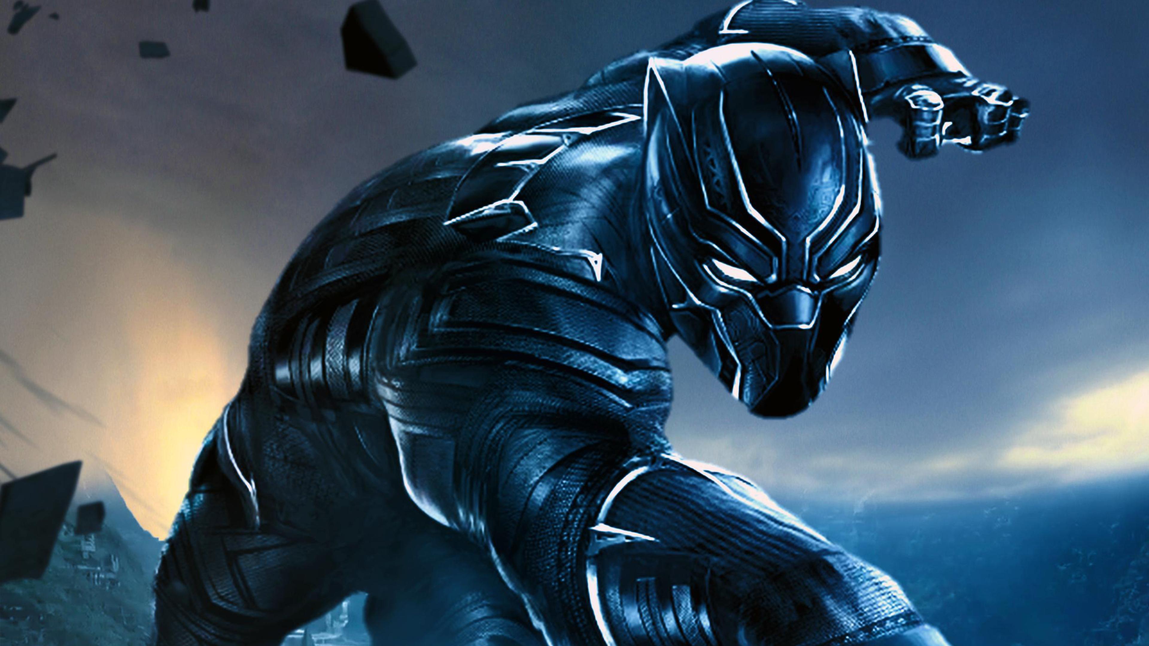 3840x2160 Black Panther Fan Made 4k HD 4k Wallpapers ...