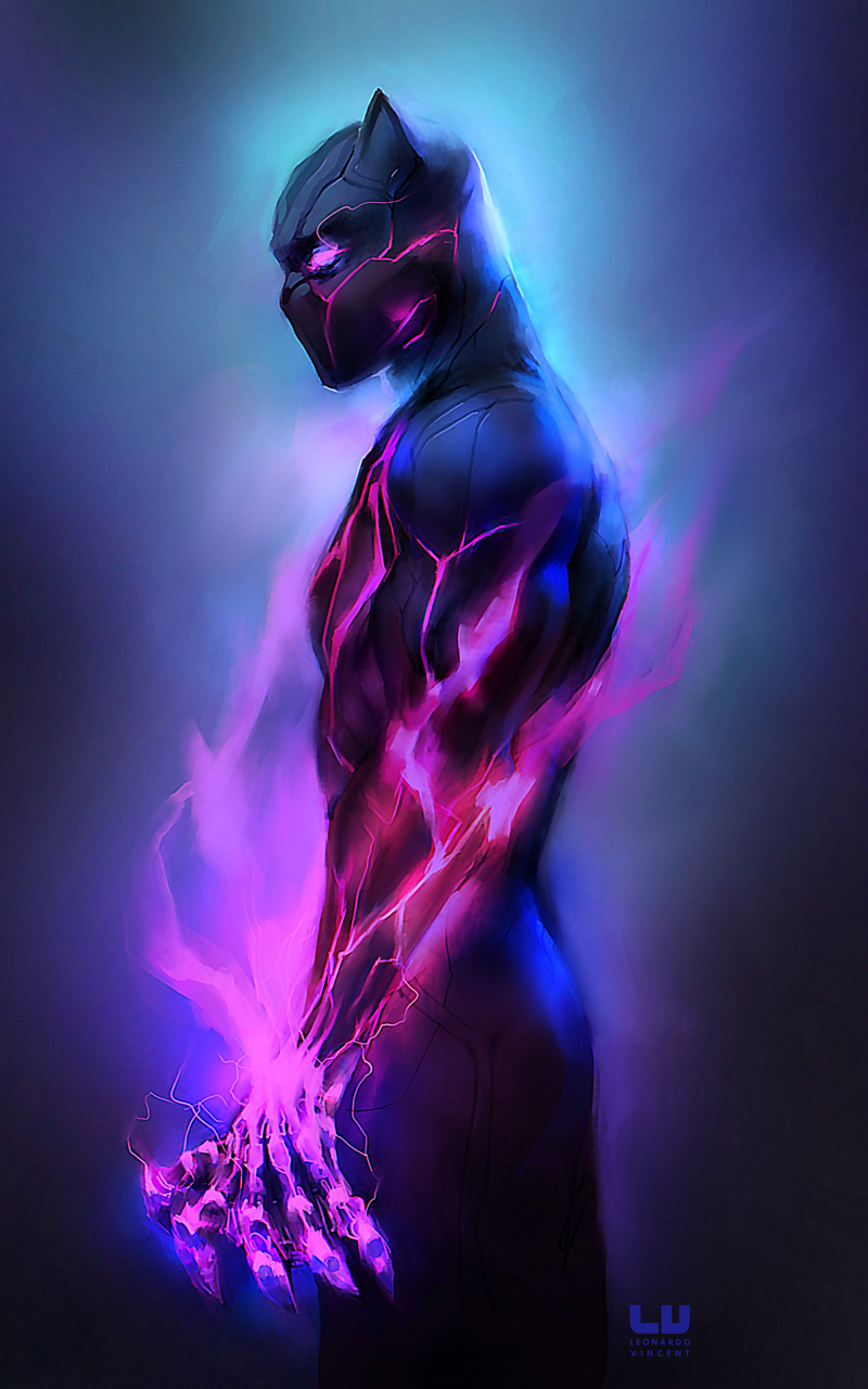 800x1280 Black Panther Fanartwork Nexus 7 Samsung Galaxy Tab 10 Note Android Tablets Hd 4k Wallpapers Images Backgrounds Photos And Pictures