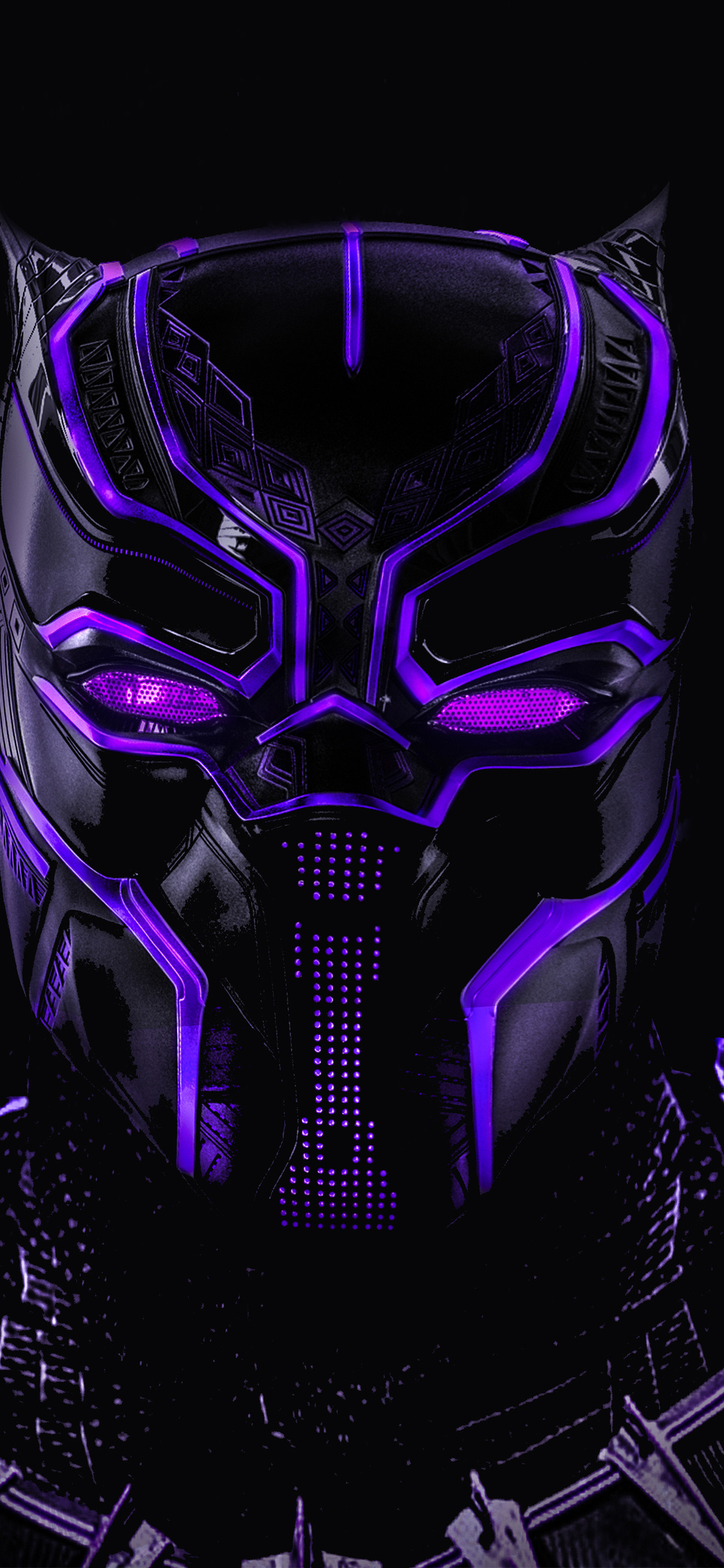 black panther hd wallpaper for iphone x