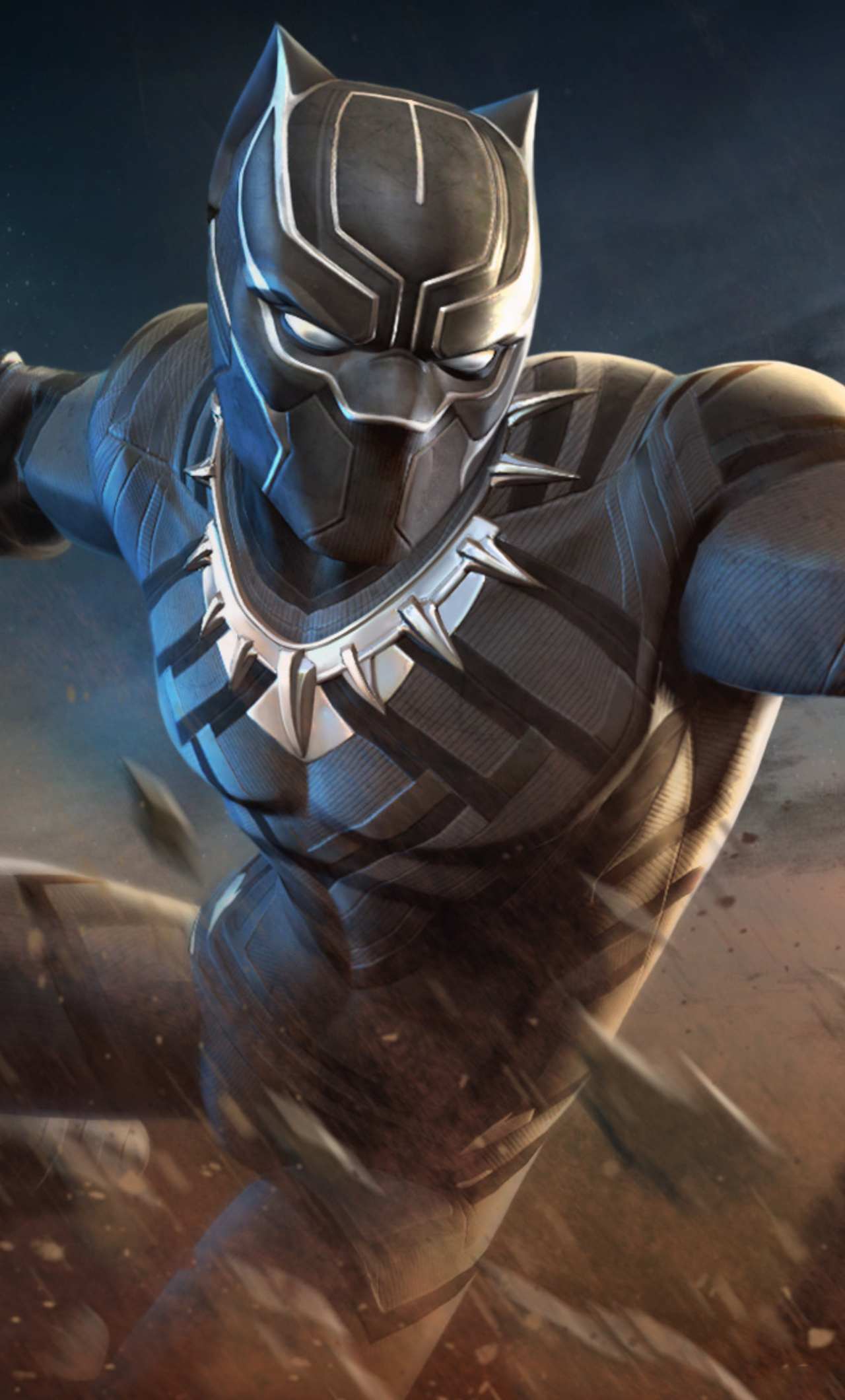 1280x2120 Black Panther Marvel Contest Of Champions Iphone 6 Hd 4k
