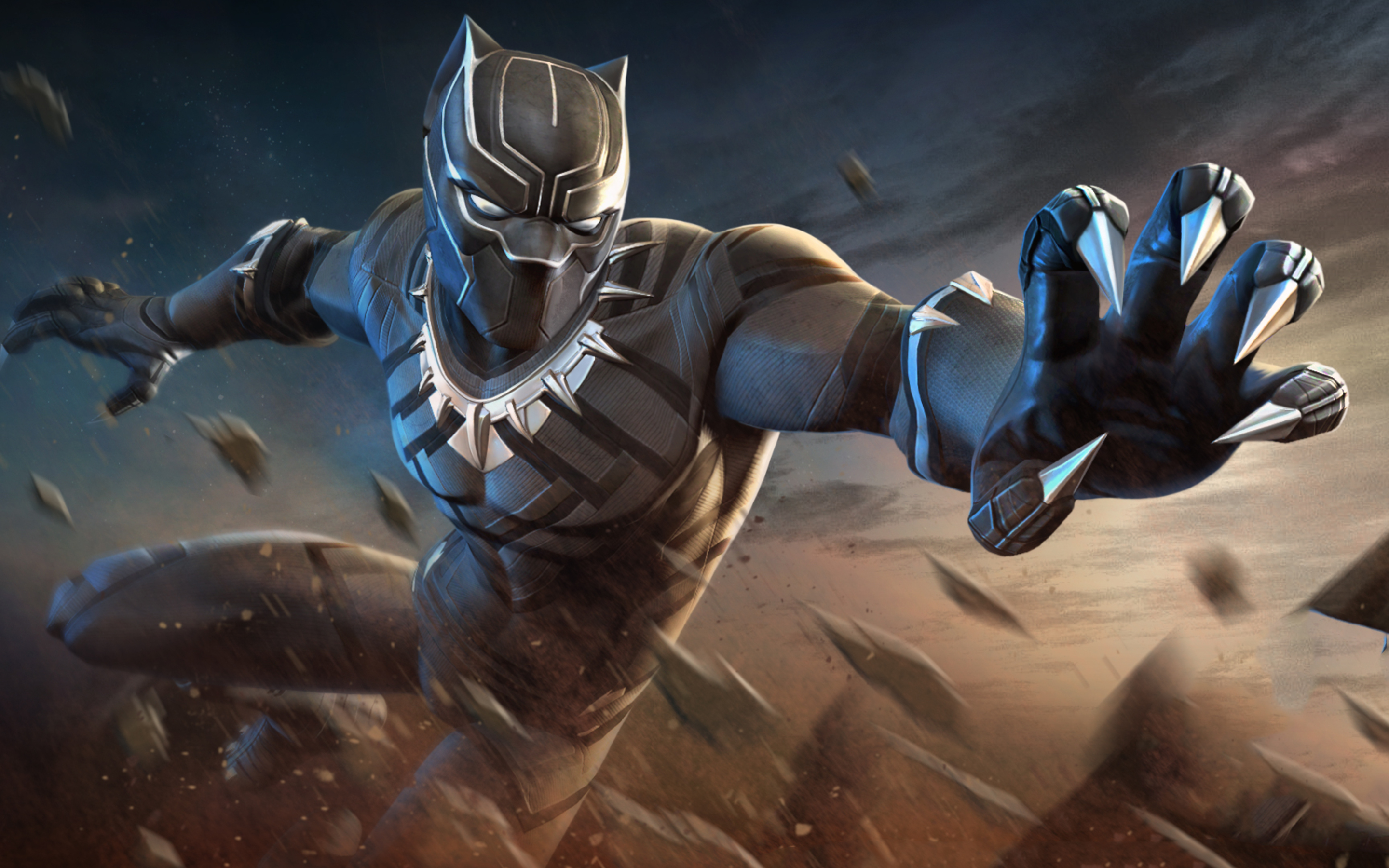 2880x1800 Black Panther Marvel Contest Of Champions Macbook Pro