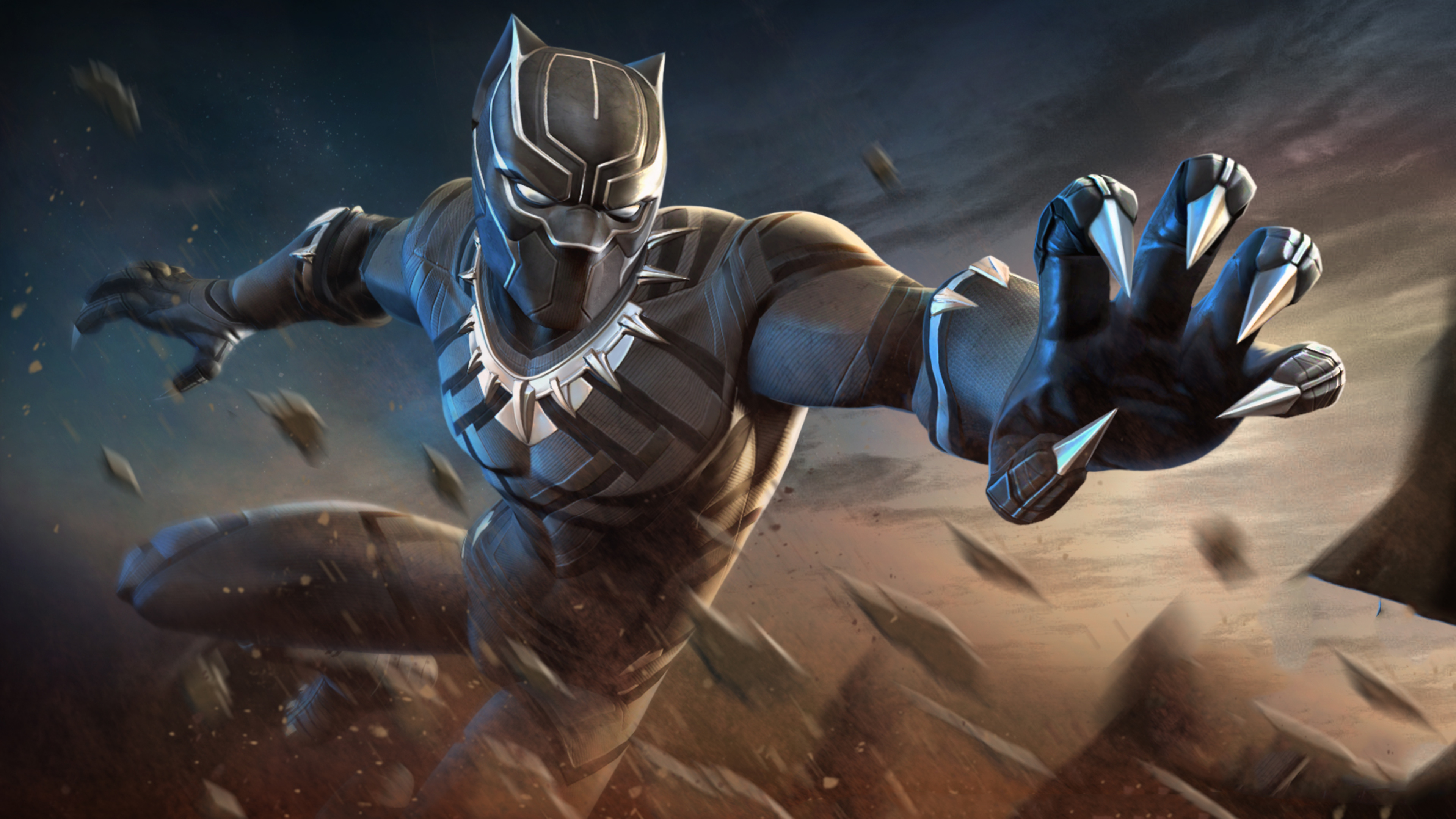 3840x2160 Black Panther Marvel Contest Of Champions 4k Hd 4k Wallpapers Images Backgrounds Photos And Pictures
