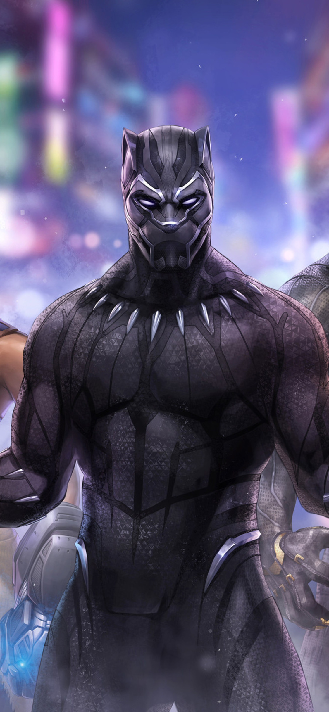 1125x2436 Black Panther Marvel Fight Iphone Xs Iphone 10 Iphone X Hd 4k Wallpapers Images Backgrounds Photos And Pictures