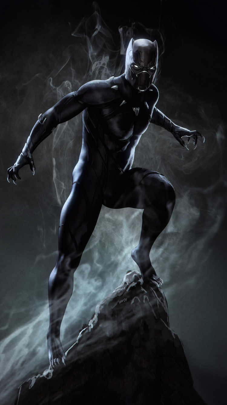750x1334 Black Panther Marvel Superhero Iphone 6 Iphone 6s Iphone 7 Hd 4k Wallpapers Images Backgrounds Photos And Pictures