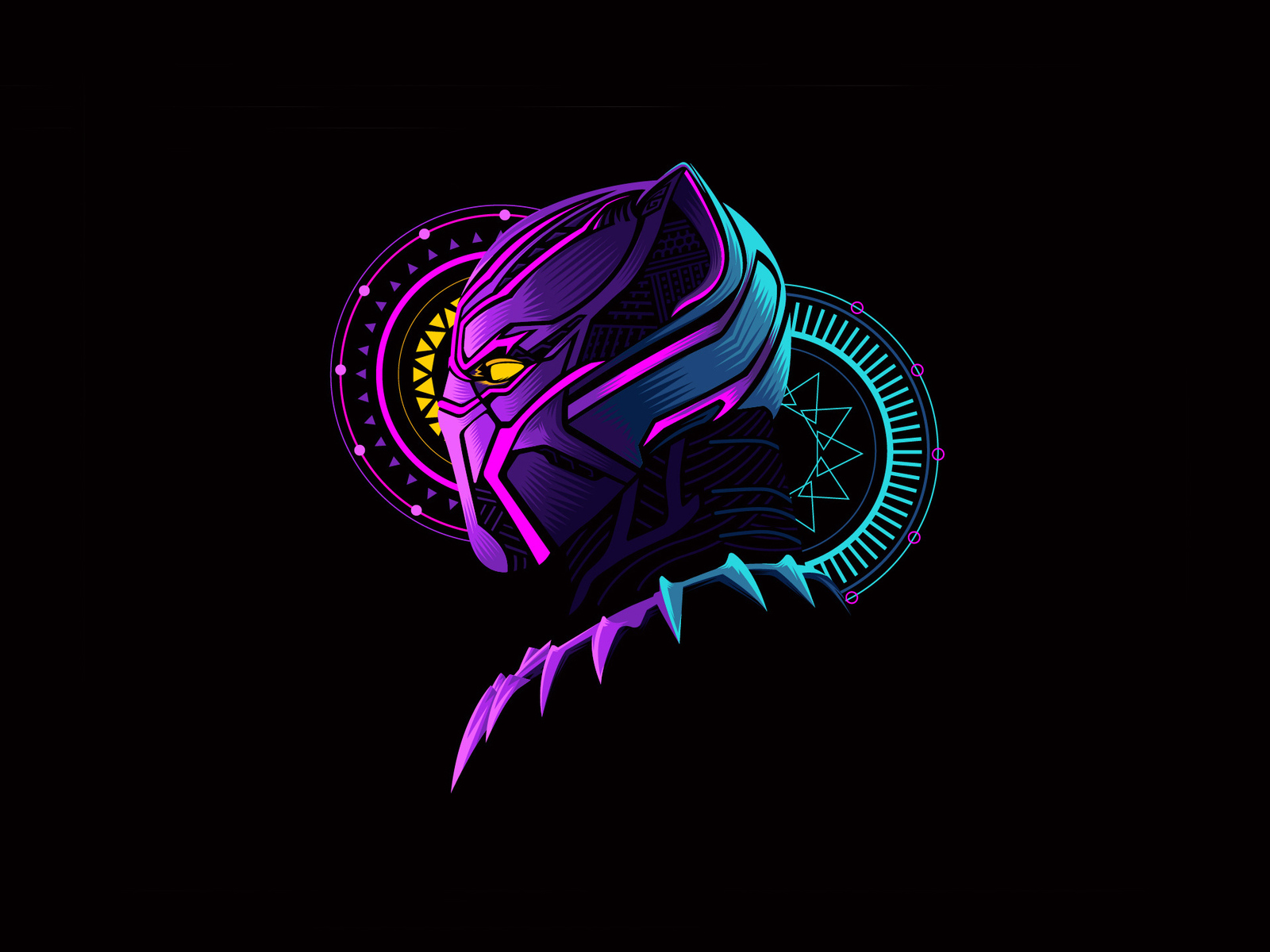 1600x1200 Black Panther Minimal Art 1600x1200 Resolution Hd 4k Wallpapers Images Backgrounds Photos And Pictures