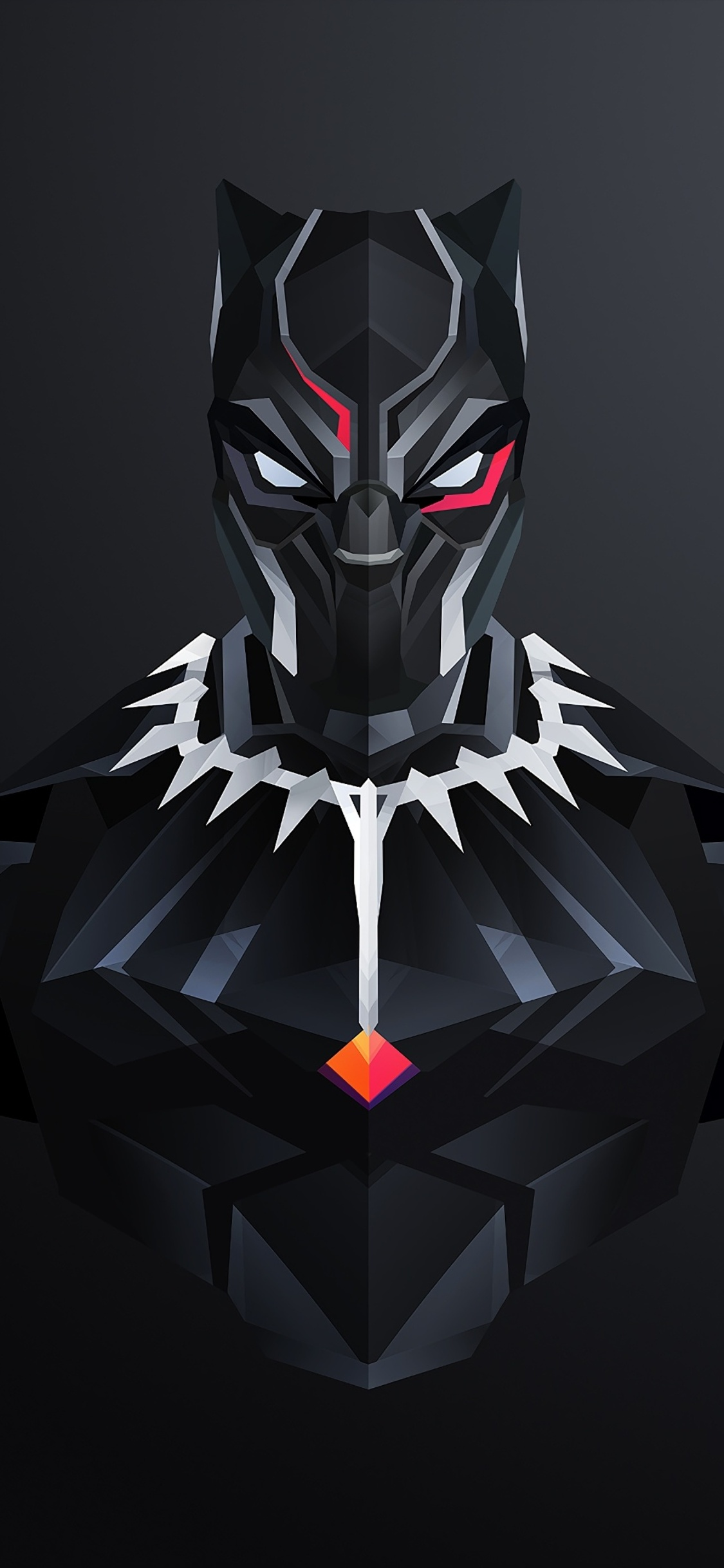 1125x2436 Black Panther Minimalism 2018 Iphone Xs Iphone 10 Iphone X Hd 4k Wallpapers Images Backgrounds Photos And Pictures