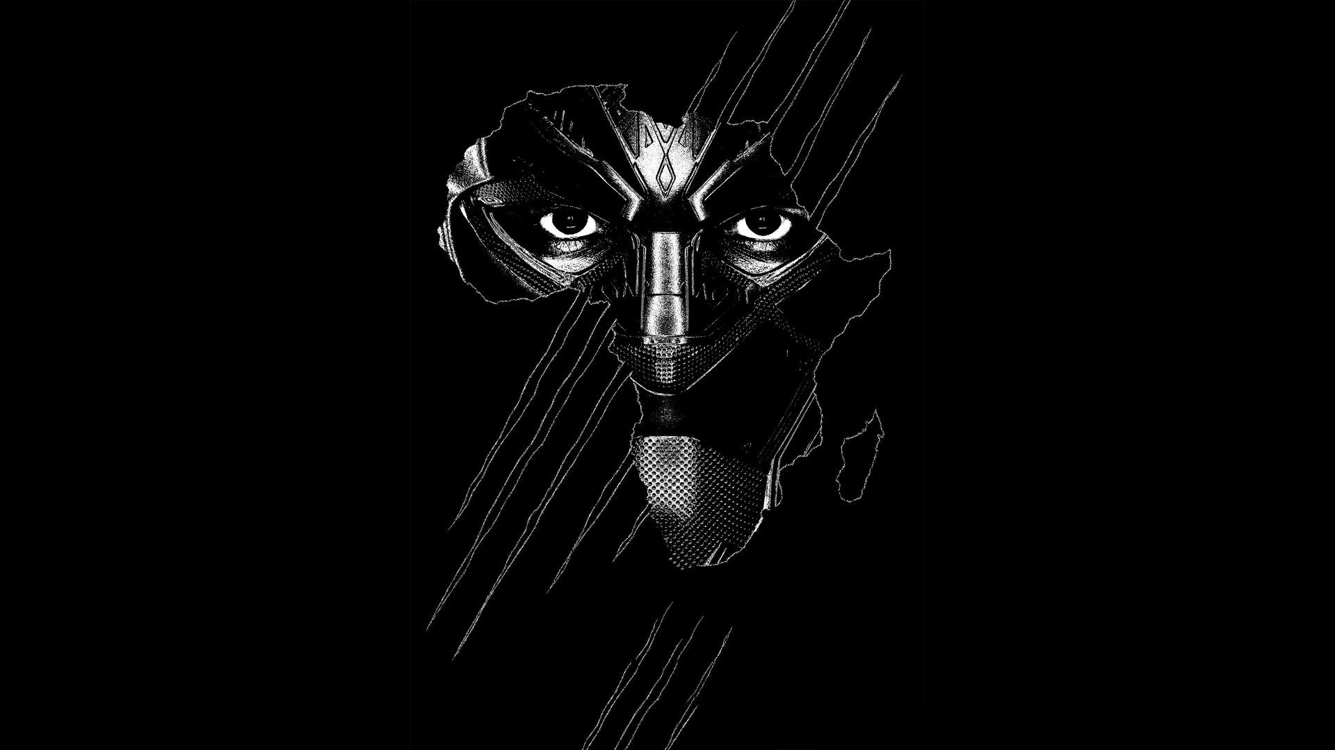 1920x1080 Black Panther Real 3d Poster Laptop Full Hd 1080p