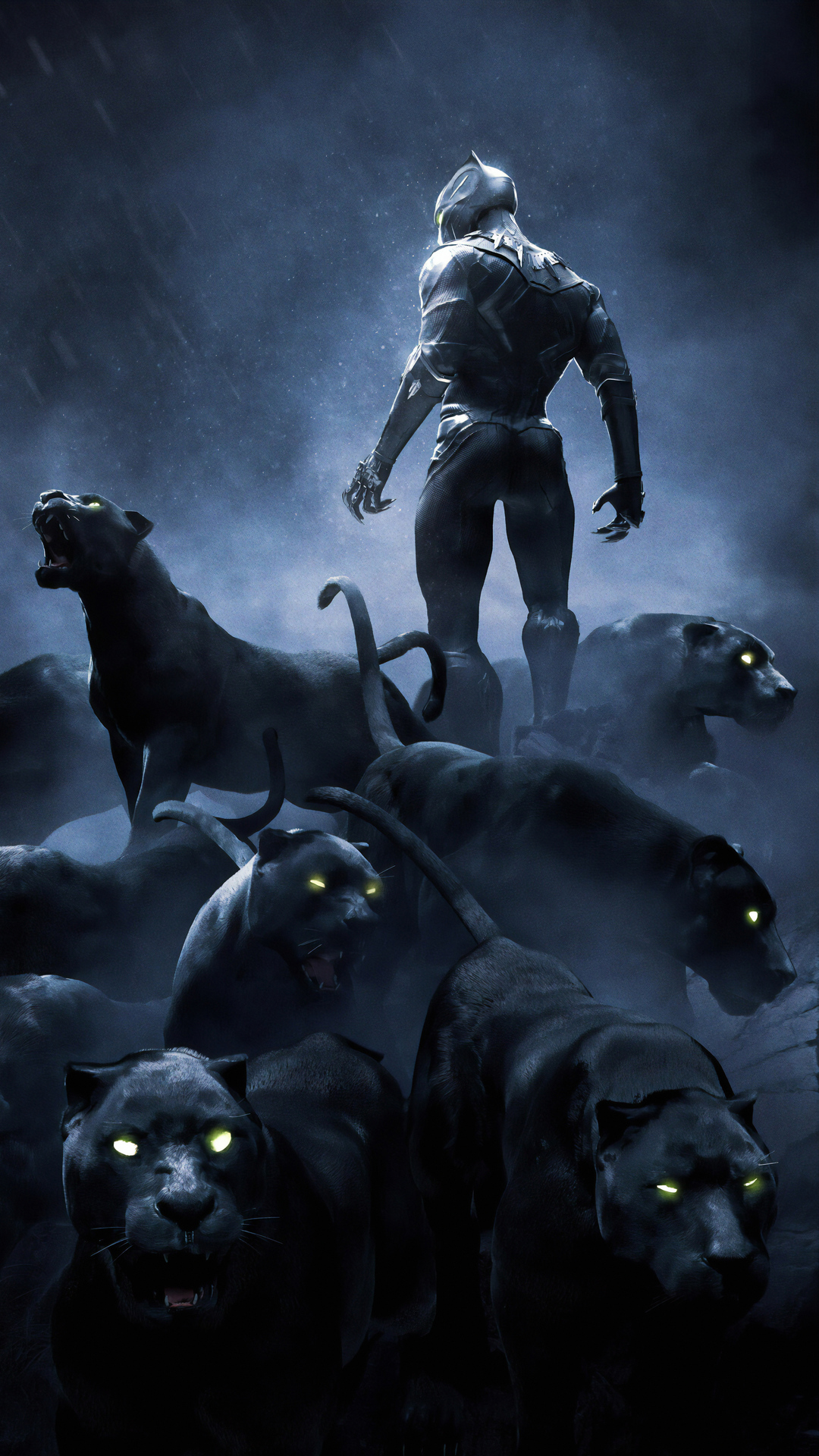 1080x1920 Black Panther Rise Up 4k Iphone 7 6s 6 Plus Pixel Xl One Plus 3 3t 5 Hd 4k Wallpapers Images Backgrounds Photos And Pictures