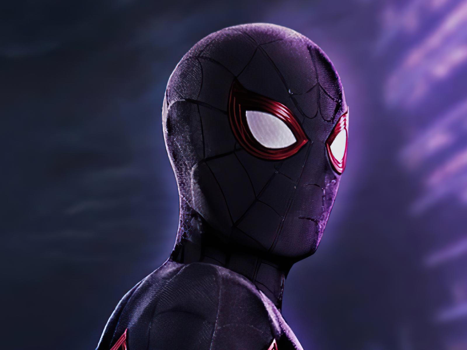 1600x1200 Black Spider Man 2020 4k 1600x1200 Resolution HD ...