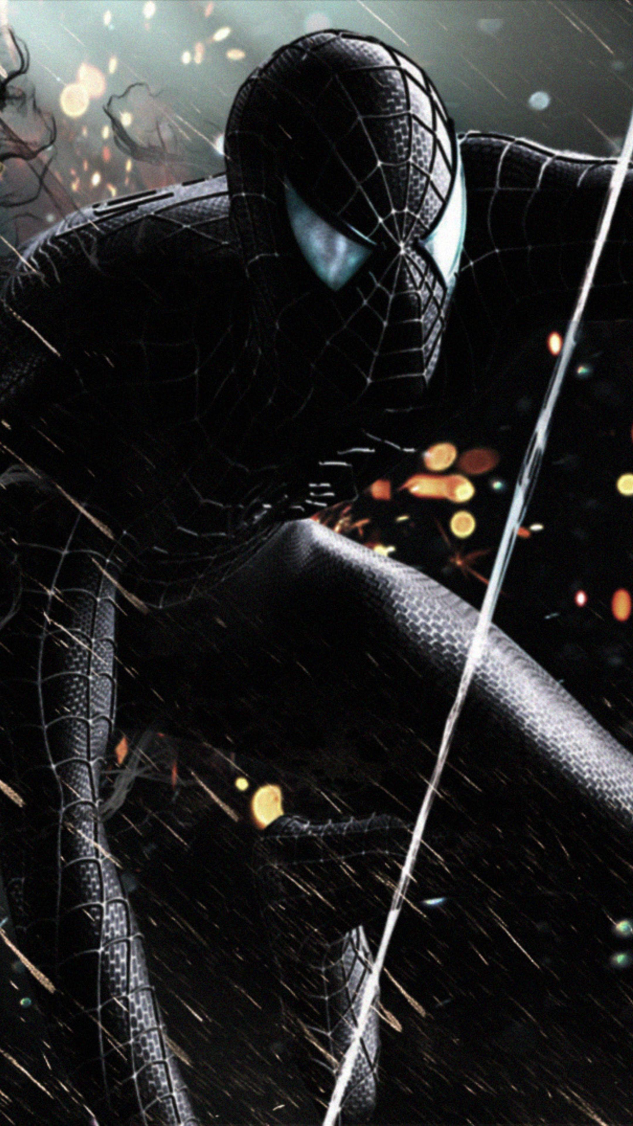 2160x3840 Black Spiderman Sony Xperia Xxzz5 Premium Hd 4k