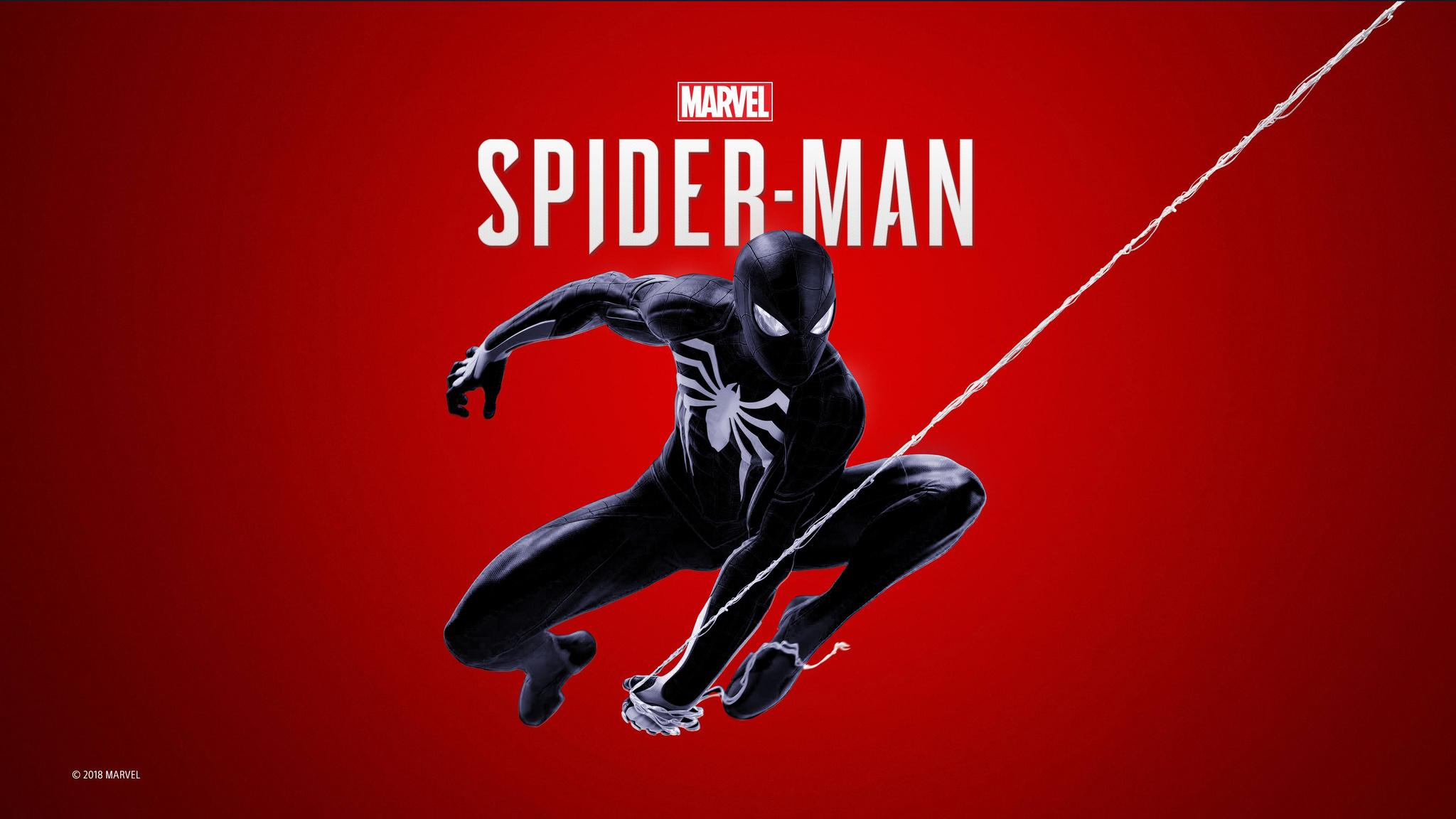 2048x1152 Black Spiderman Ps4 4k 2048x1152 Resolution Hd 4k