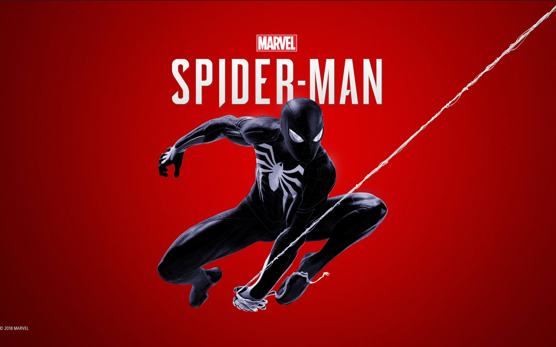 2880x1800 Black Spiderman Ps4 4k Macbook Pro Retina Hd 4k Wallpapers