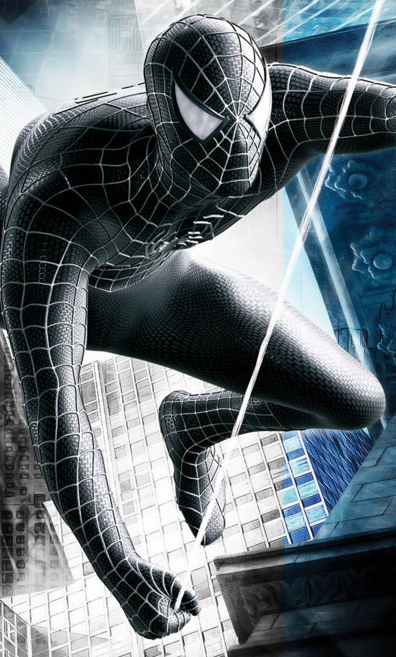 1280x2120 Black Spiderman Superhero Iphone 6 Hd 4k Wallpapers