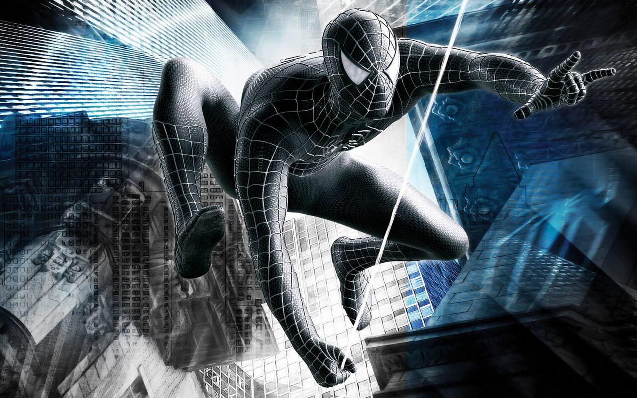 1280x800 Black Spiderman Superhero 720p Hd 4k Wallpapers Images