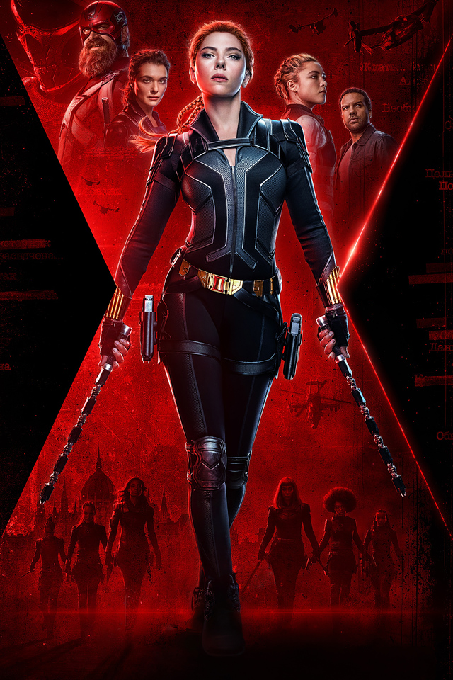 640x960 Black Widow 2020 Movie 4k Poster iPhone 4, iPhone ...