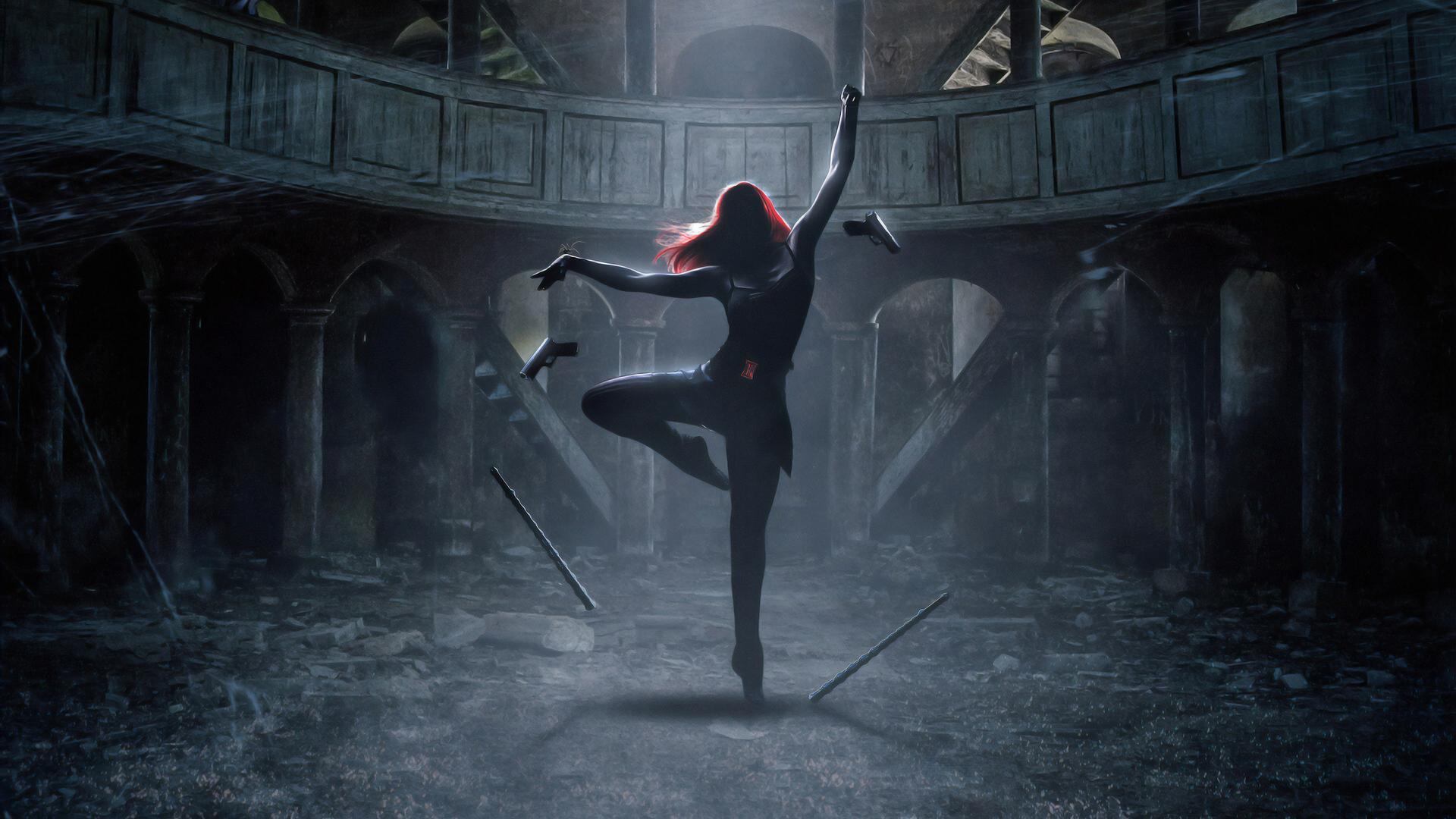 1920x1080 Black Widow The Dance 4k Laptop Full HD 1080P HD ...
