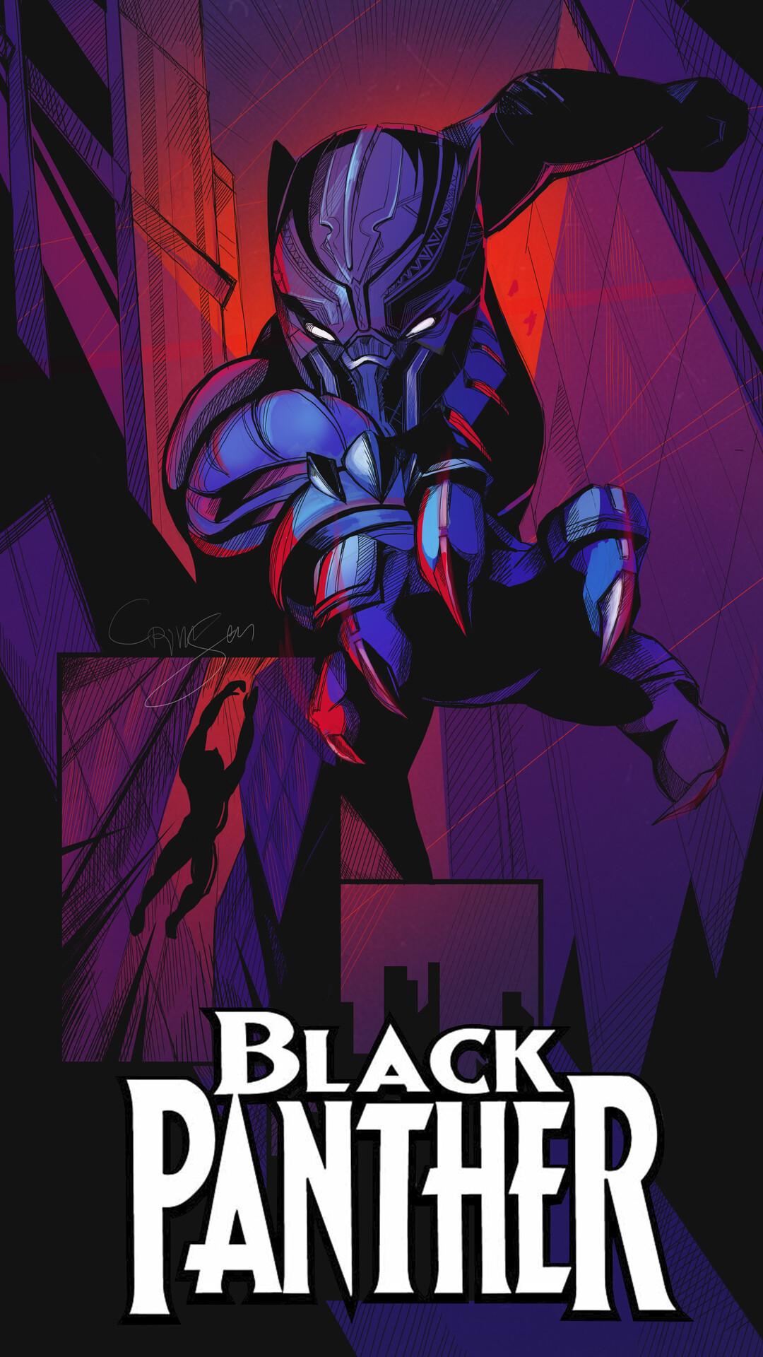 Marvel Comics Black Panther Wallpaper Oscargilaberte Com