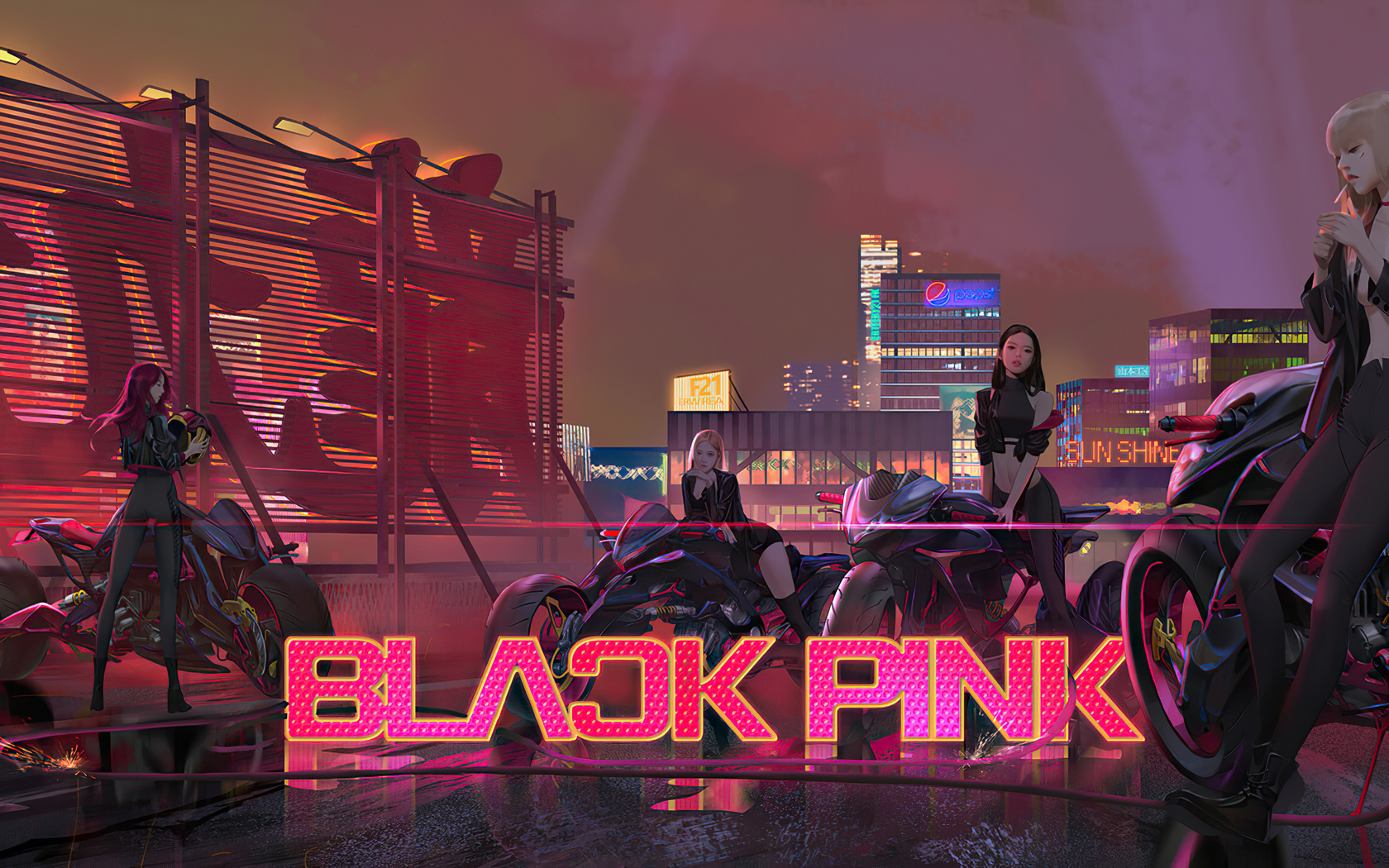 1680x1050 Blackpink 4k 1680x1050 Resolution Hd 4k Wallpapers Images Backgrounds Photos And Pictures