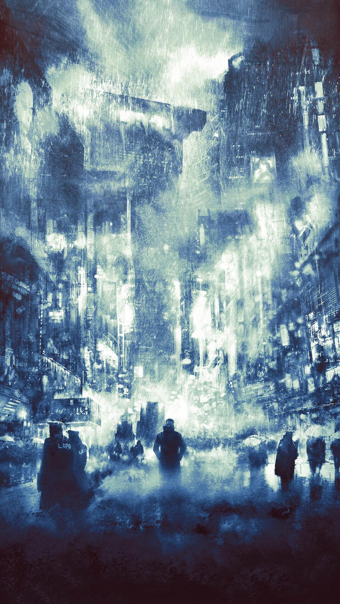 1080x1920 Blade Runner 2049 Art Iphone 7 6s 6 Plus Pixel Xl One