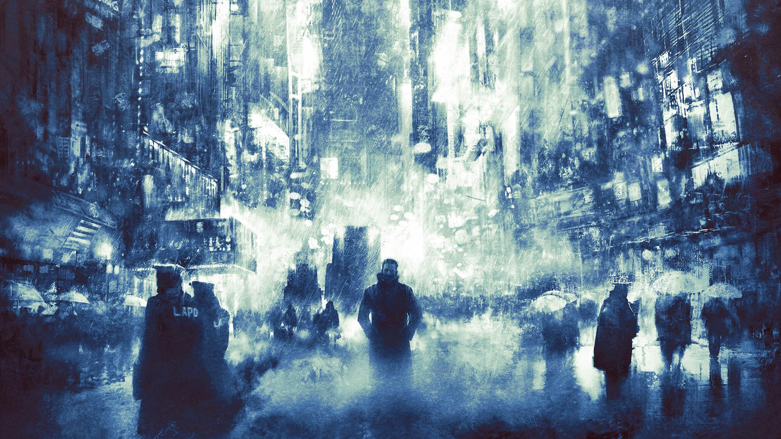 2560x1440 Blade Runner 2049 Art 1440P Resolution HD 4k ...
