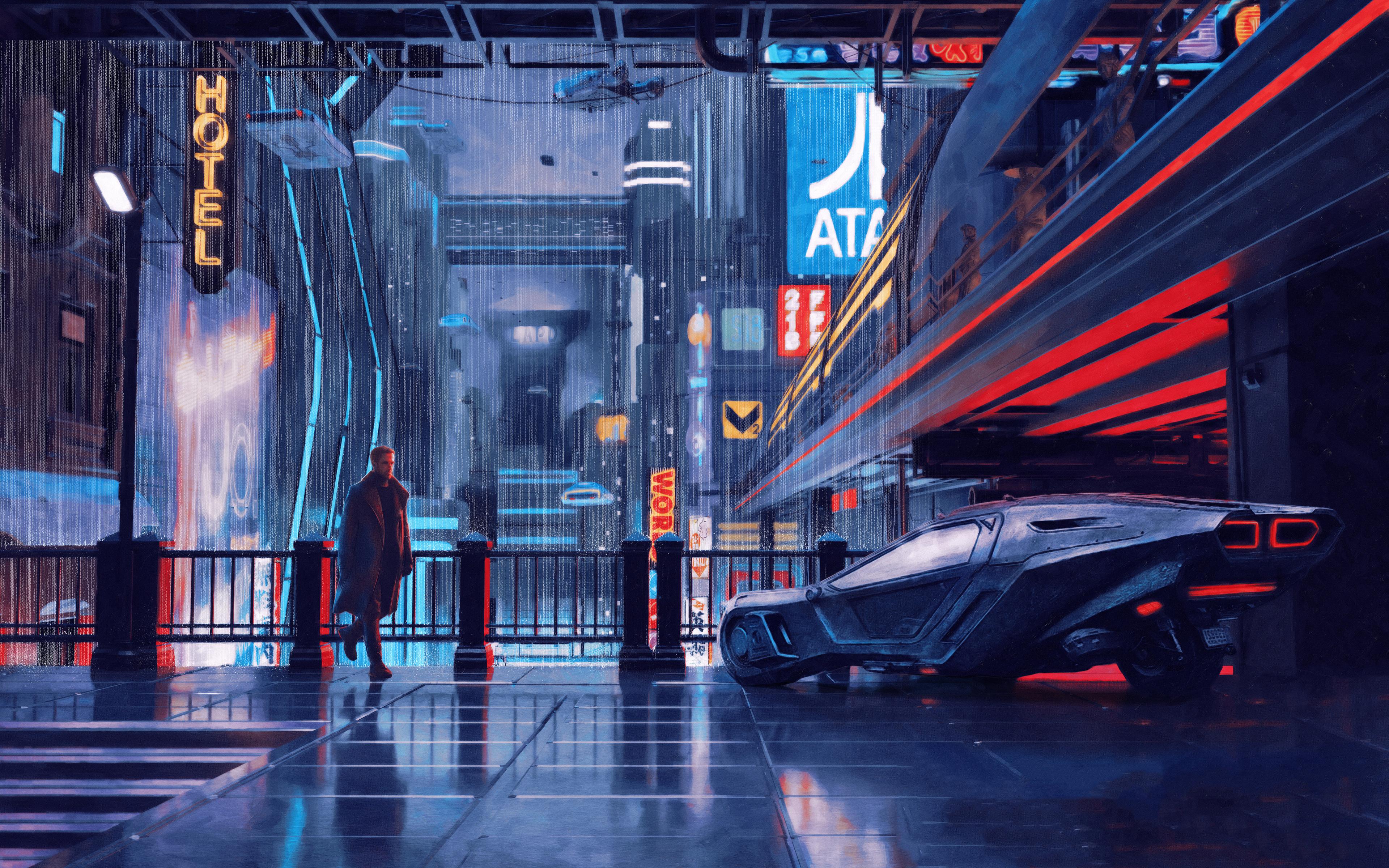 3840x2400 Blade Runner 2049 Arts 4k HD 4k Wallpapers ...