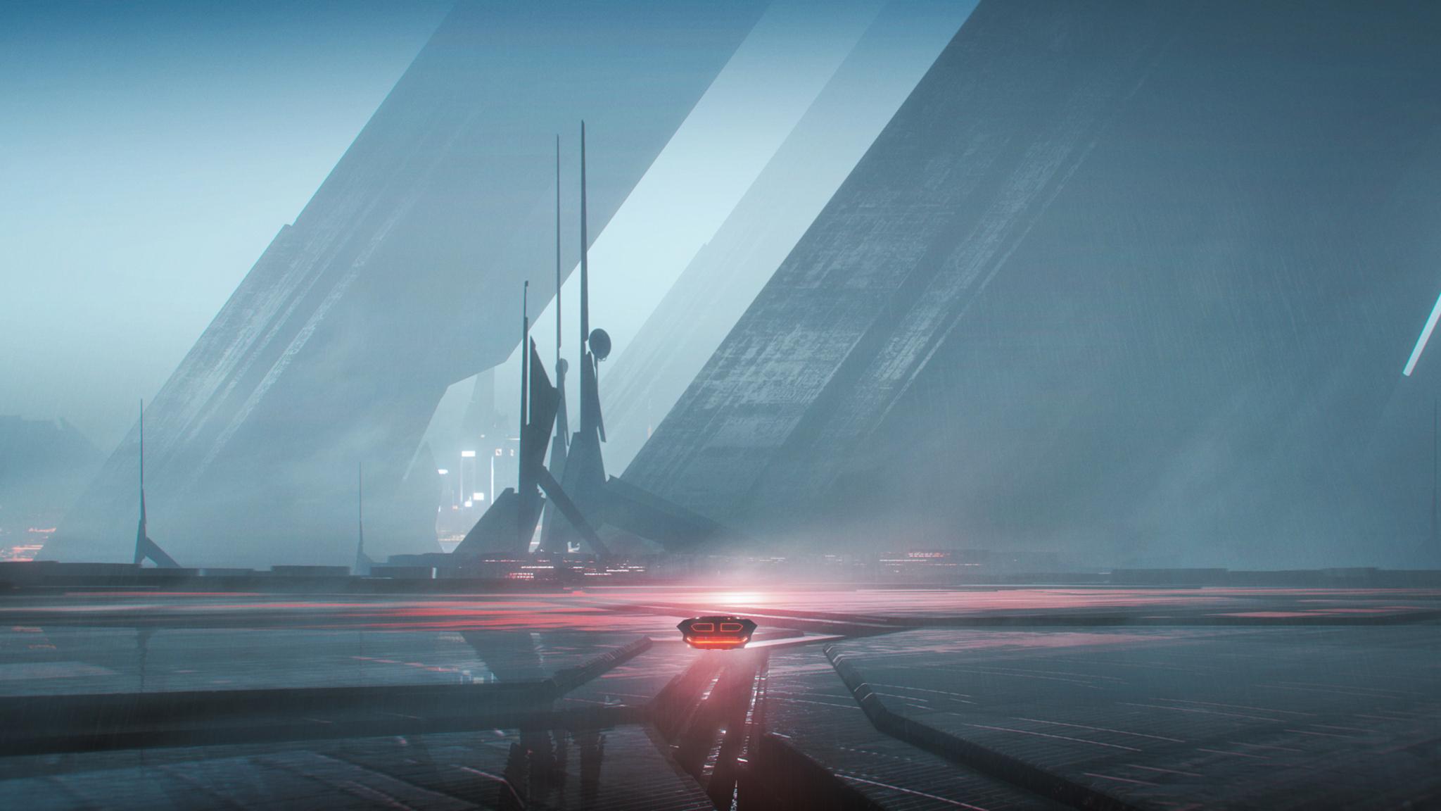 2048x1152 Blade Runner 2049 Artwork HD 2048x1152 ...