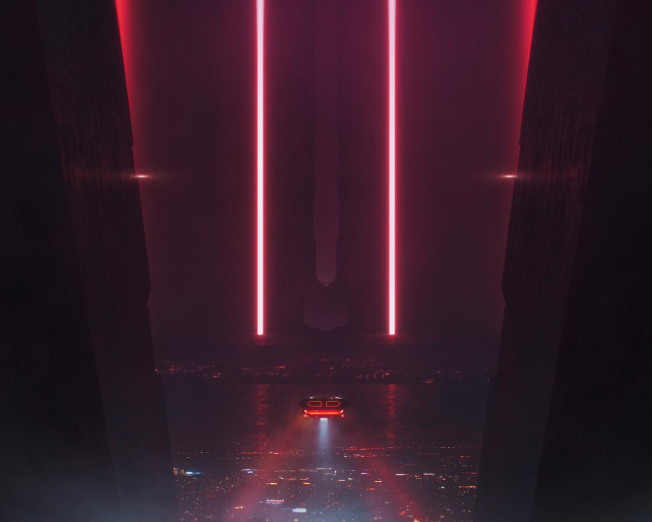 1280x1024 Blade Runner 2049 Cityscape Digital Art 1280x1024