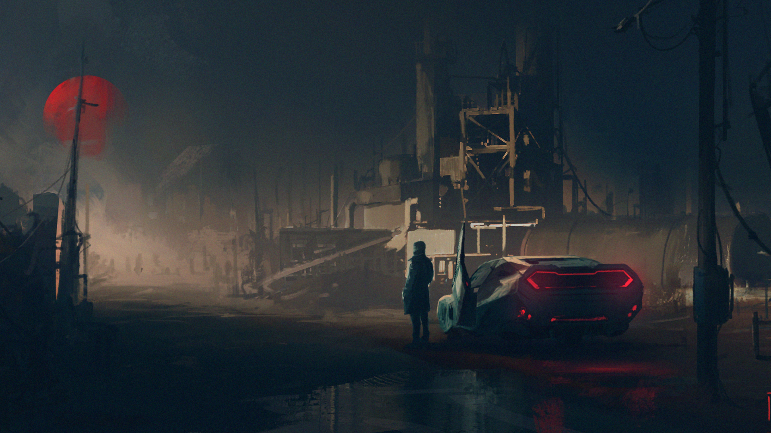 2560x1440 Blade Runner 2049 Fan Art 1440P Resolution HD 4k