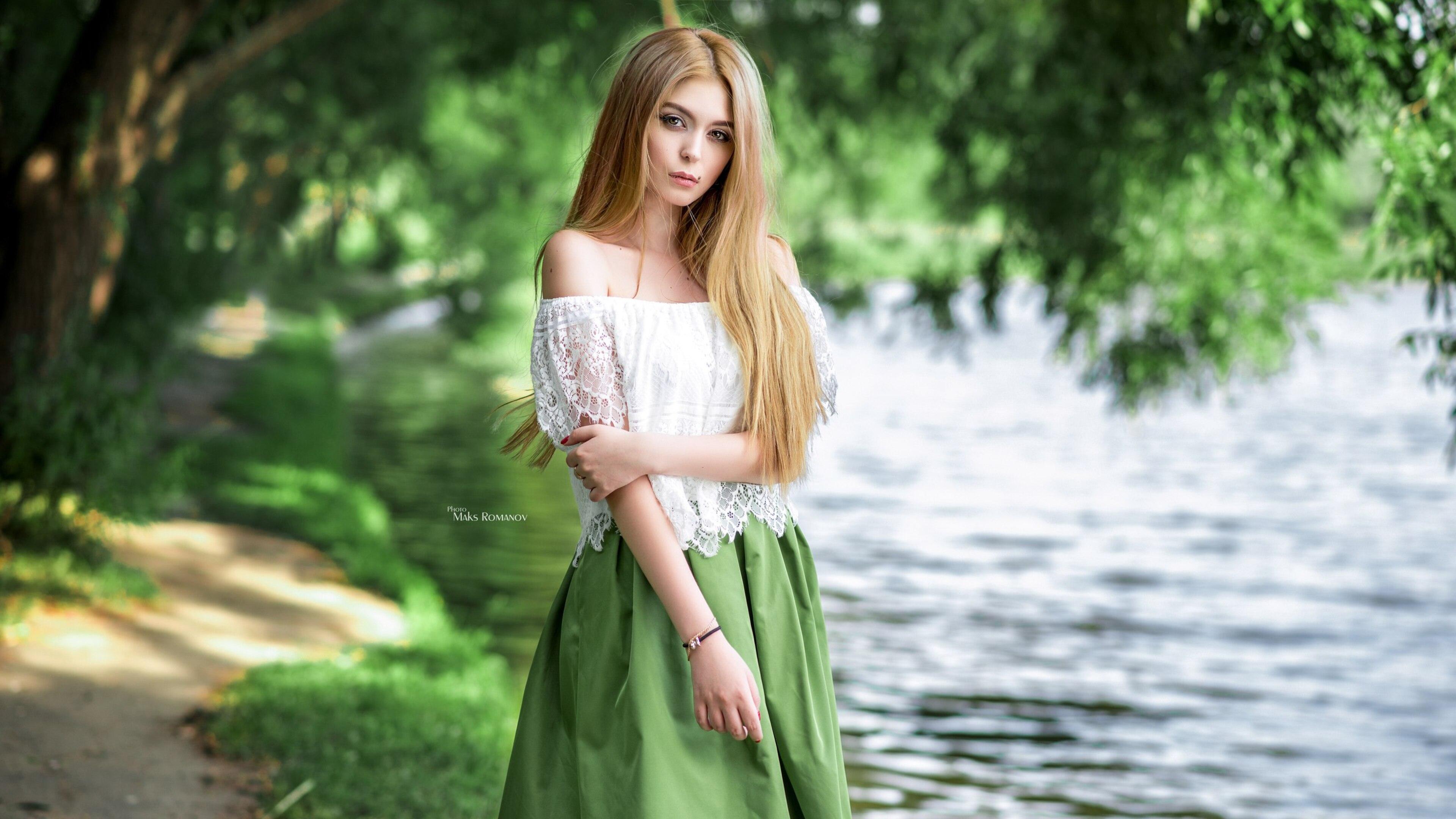 Beautiful Blonde Girl Smile Photo Hd Wallpaper | Metro