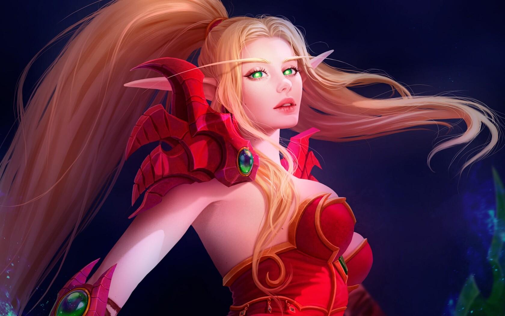 1680x1050 Blood Elf World Of Warcraft 1680x1050 Resolution