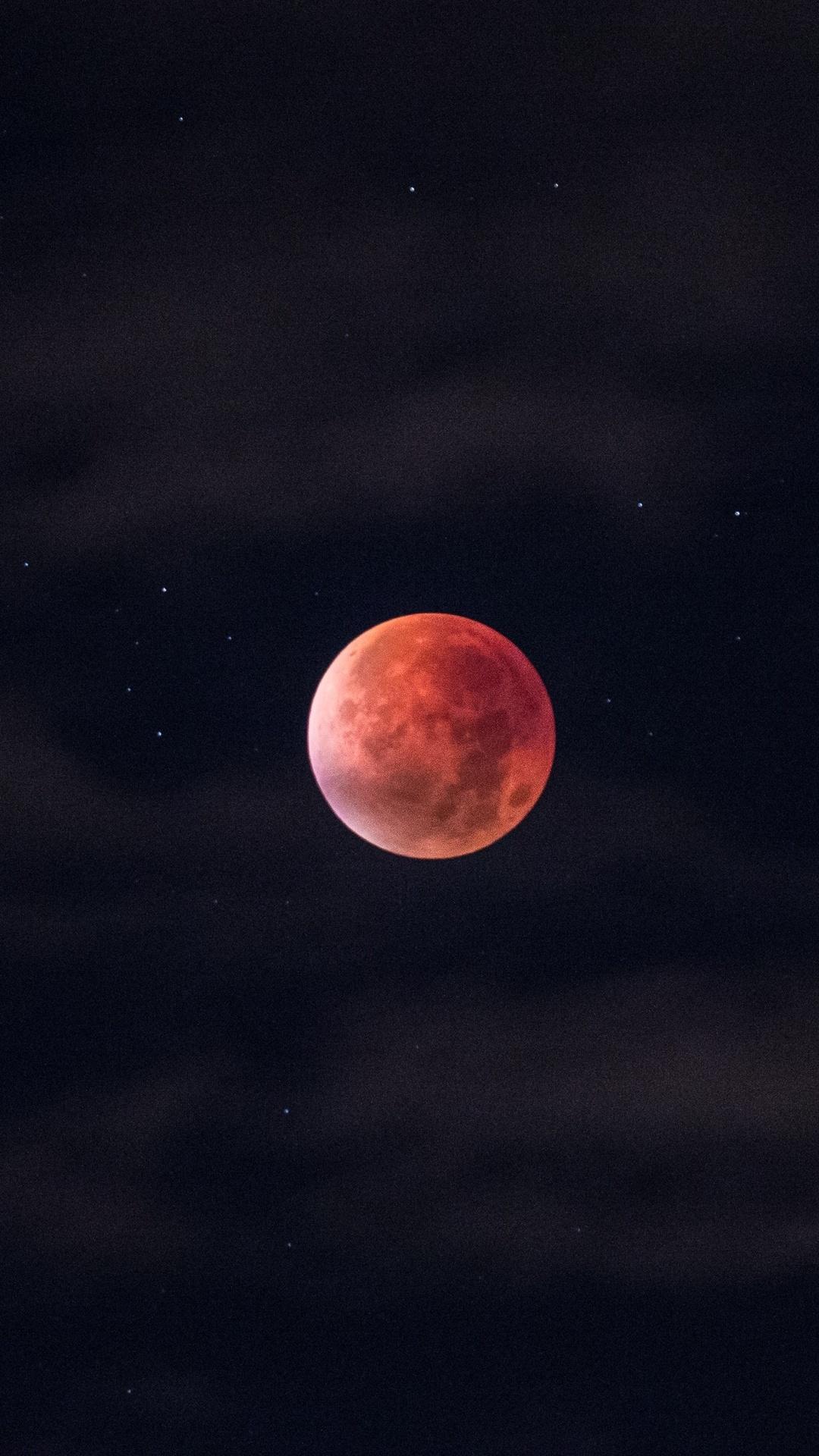 1080x1920 Blood Moon Iphone 7 6s 6 Plus Pixel Xl One Plus