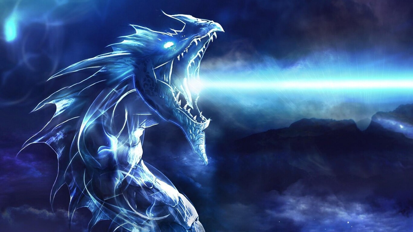 1366x768 blue dragon 1366x768 resolution hd 4k wallpapers, images