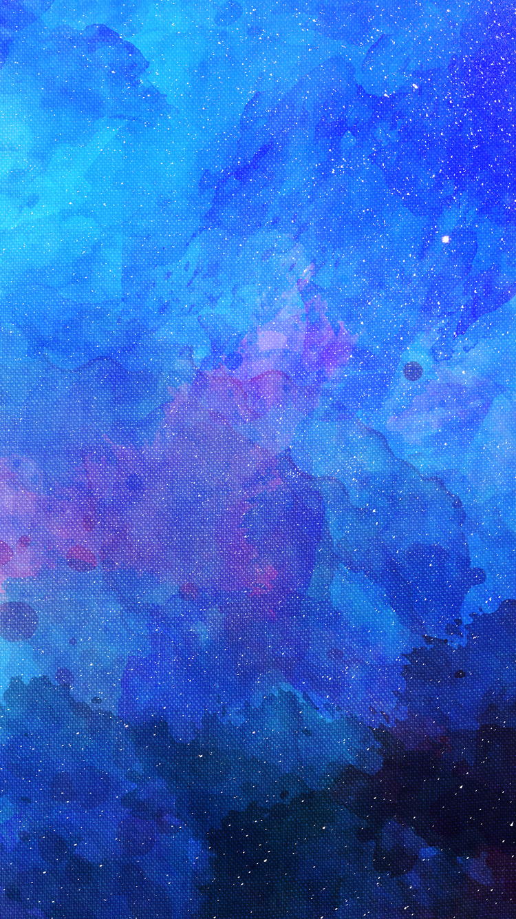 750x1334 Blue Faded Colors Abstract 4k iPhone 6, iPhone 6S ...