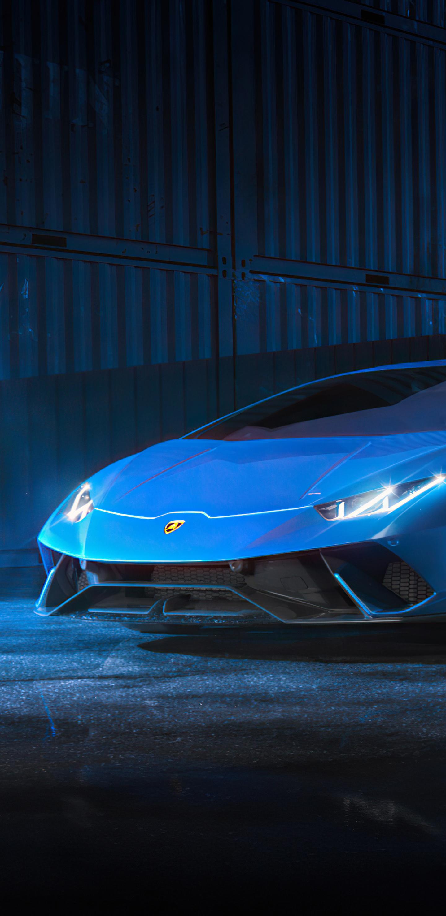 1440x2960 Blue Lamborghini Huracan 4k Samsung Galaxy Note ...
